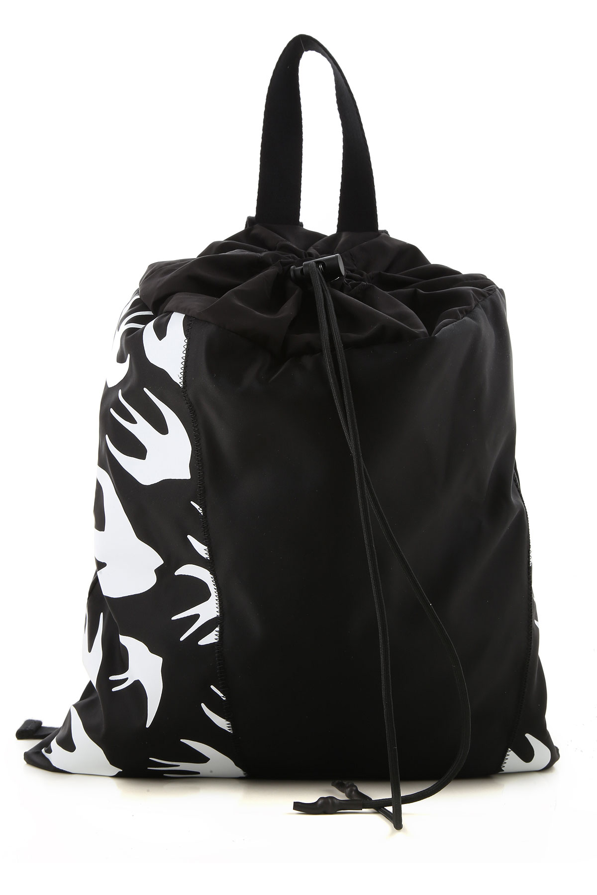 Alexander McQueen McQ Backpack for Men On Sale, Black, Nylon, 2019