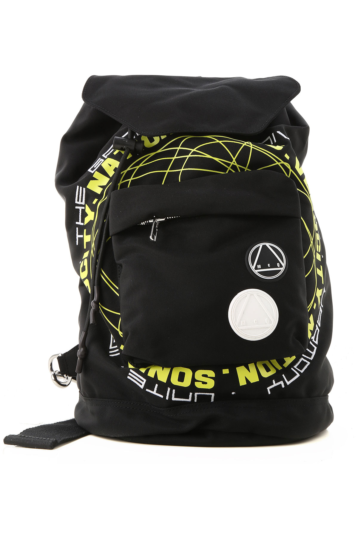 Alexander McQueen McQ Backpack for Men On Sale, Black, Fabric, 2019