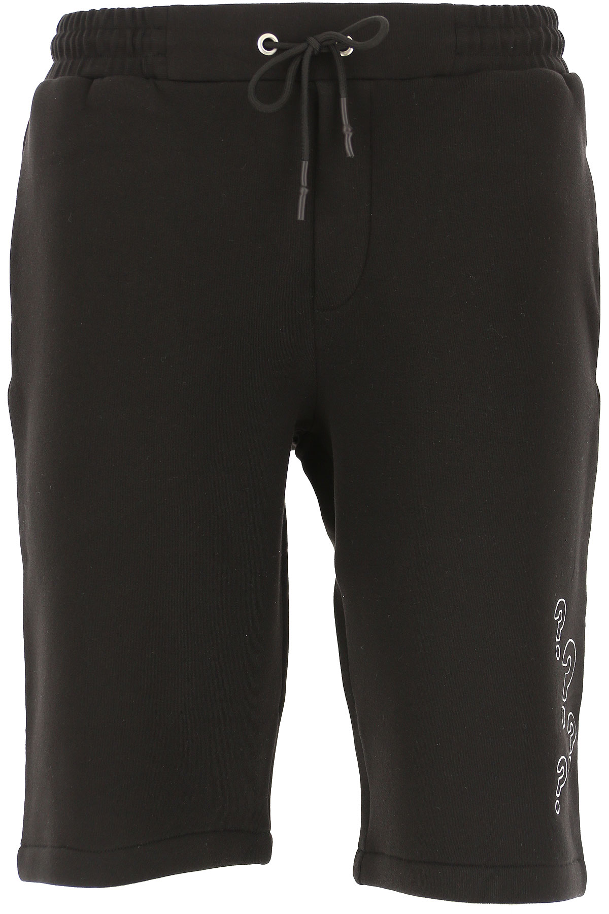 Alexander McQueen McQ Shorts for Men On Sale, Black, Cotton, 2019, L M S XL