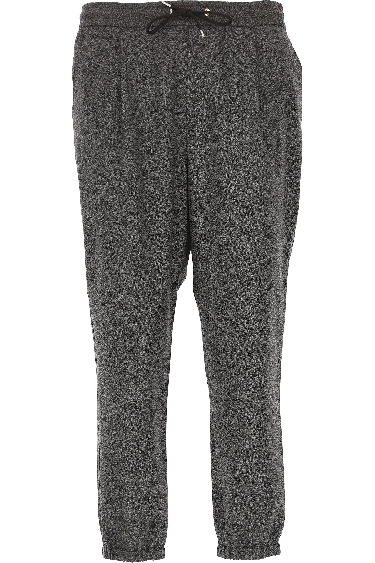 Alexander McQueen McQ Pants for Men On Sale in Outlet, Charcoal Grey, Wool, 2019, 30 32 34 36