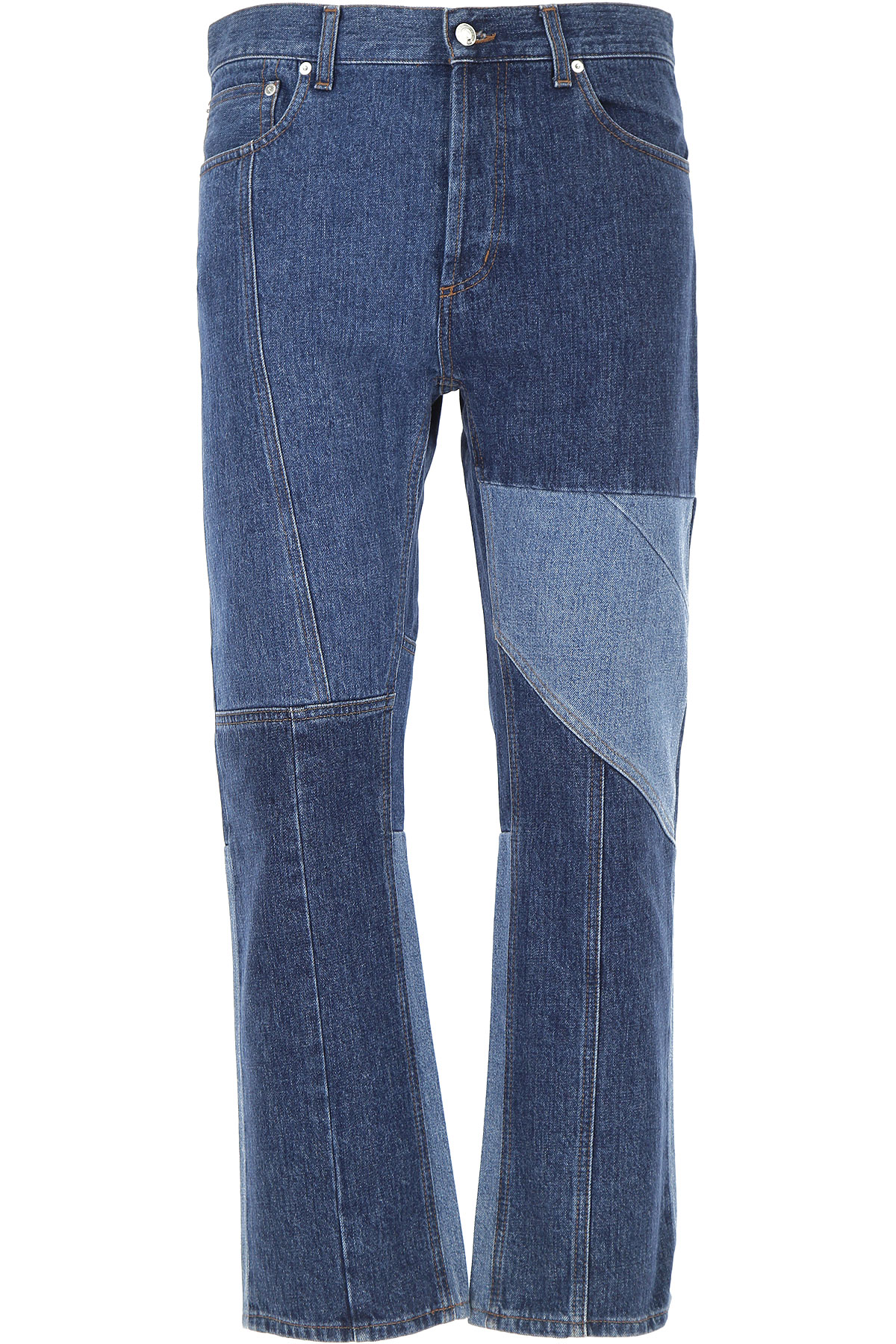 Image of Alexander McQueen Jeans On Sale in Outlet, Blue Denim, Cotton, 2017, 30 32 34 36