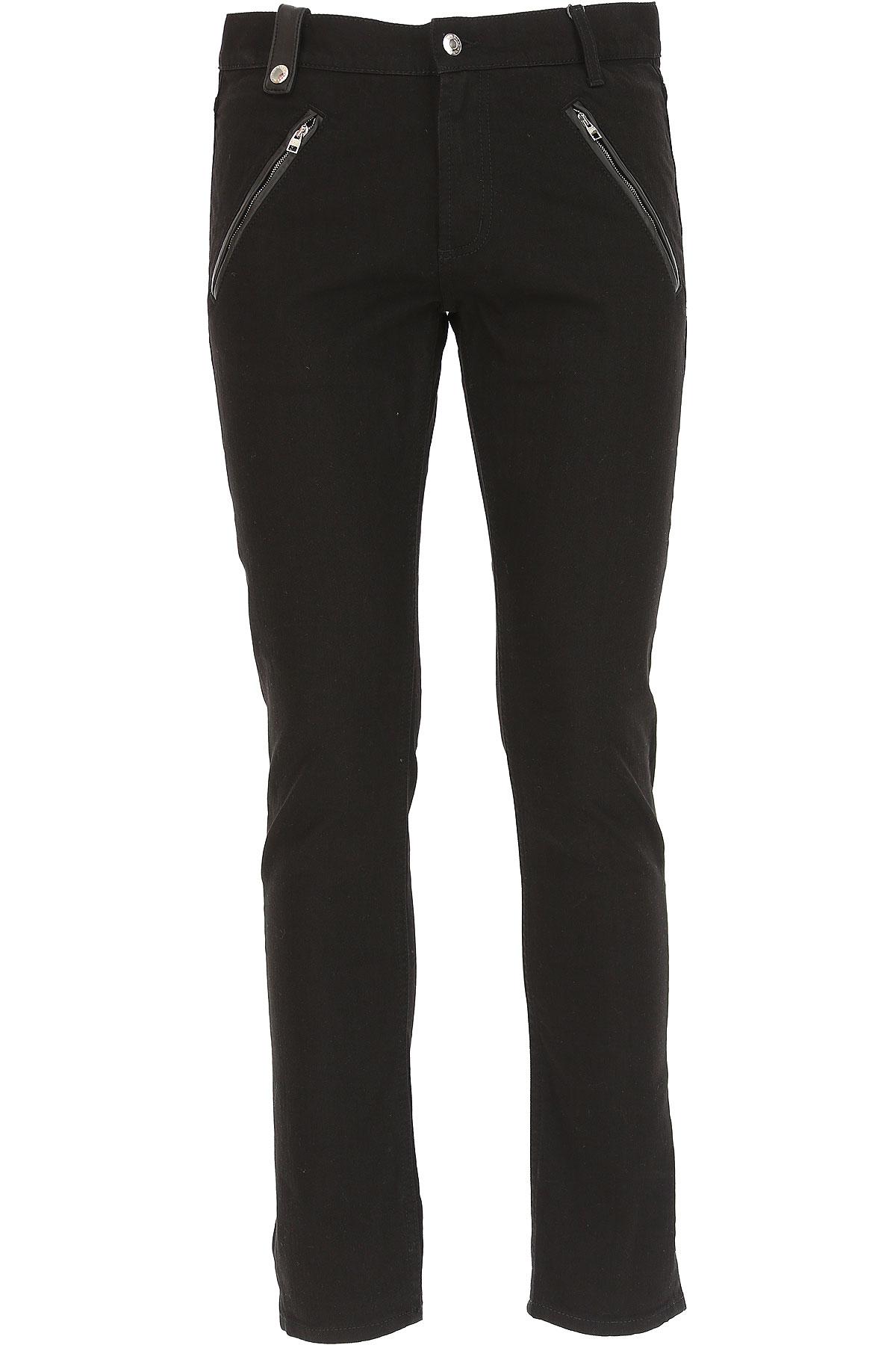 Image of Alexander McQueen Jeans, Black, Cotton, 2017, 30 34