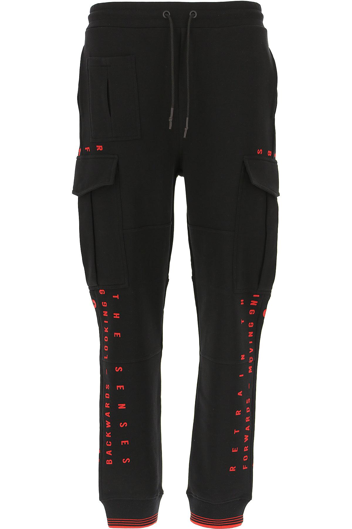 Alexander McQueen McQ Pants for Men On Sale, Black, Cotton, 2019, L M S XL