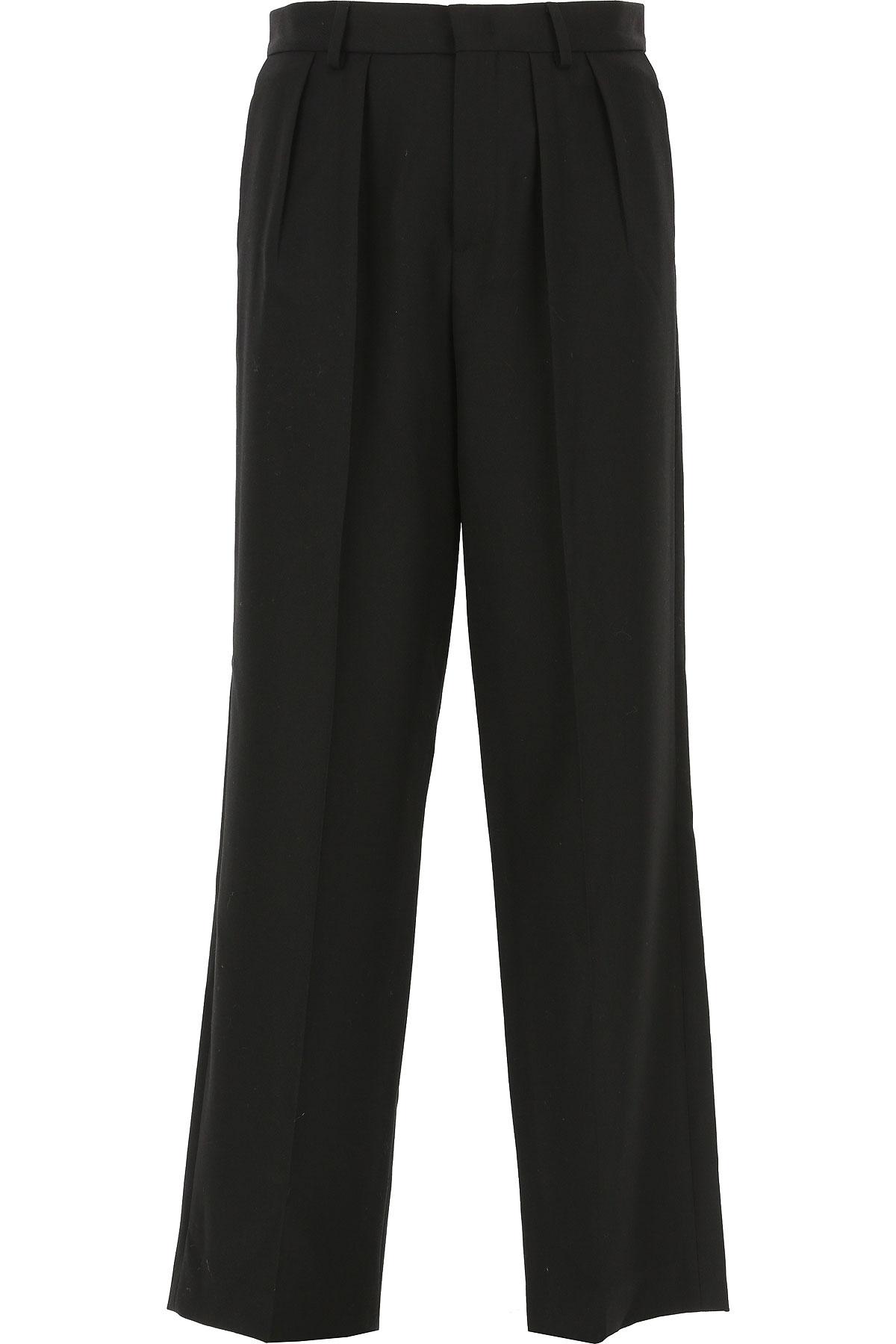 Alexander McQueen McQ Pants for Men On Sale, Black, Wool, 2019, 30 32 34 36