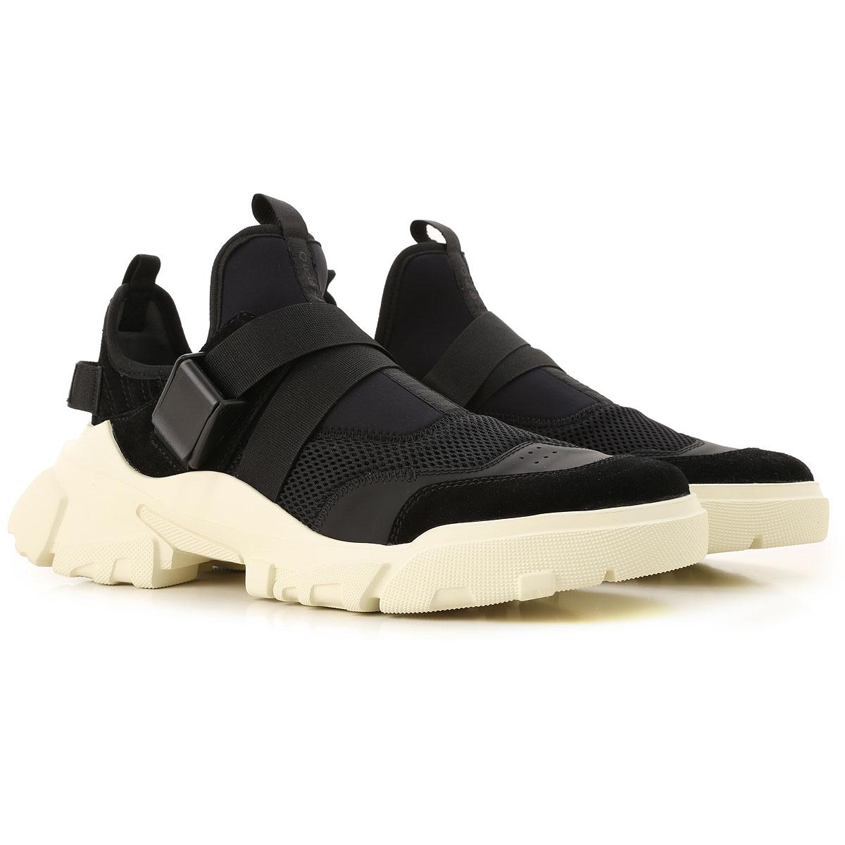 McQ Sneaker Homme Pas cher en Soldes, Orbyt Clip, Noir, Cuir, 2019, 40 41 43 44 45