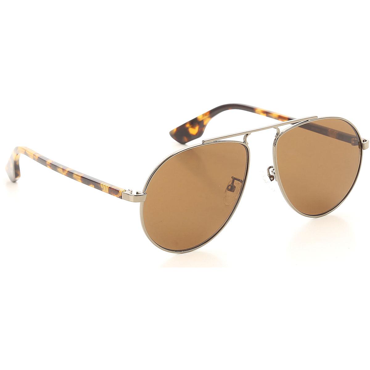 Alexander McQueen McQ Sunglasses On Sale, Ruthenium, 2019