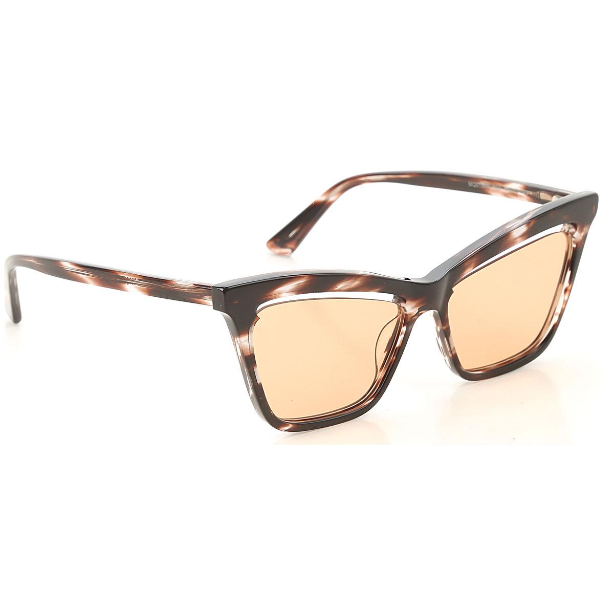 Alexander McQueen McQ Sunglasses On Sale, Burgundy, 2019