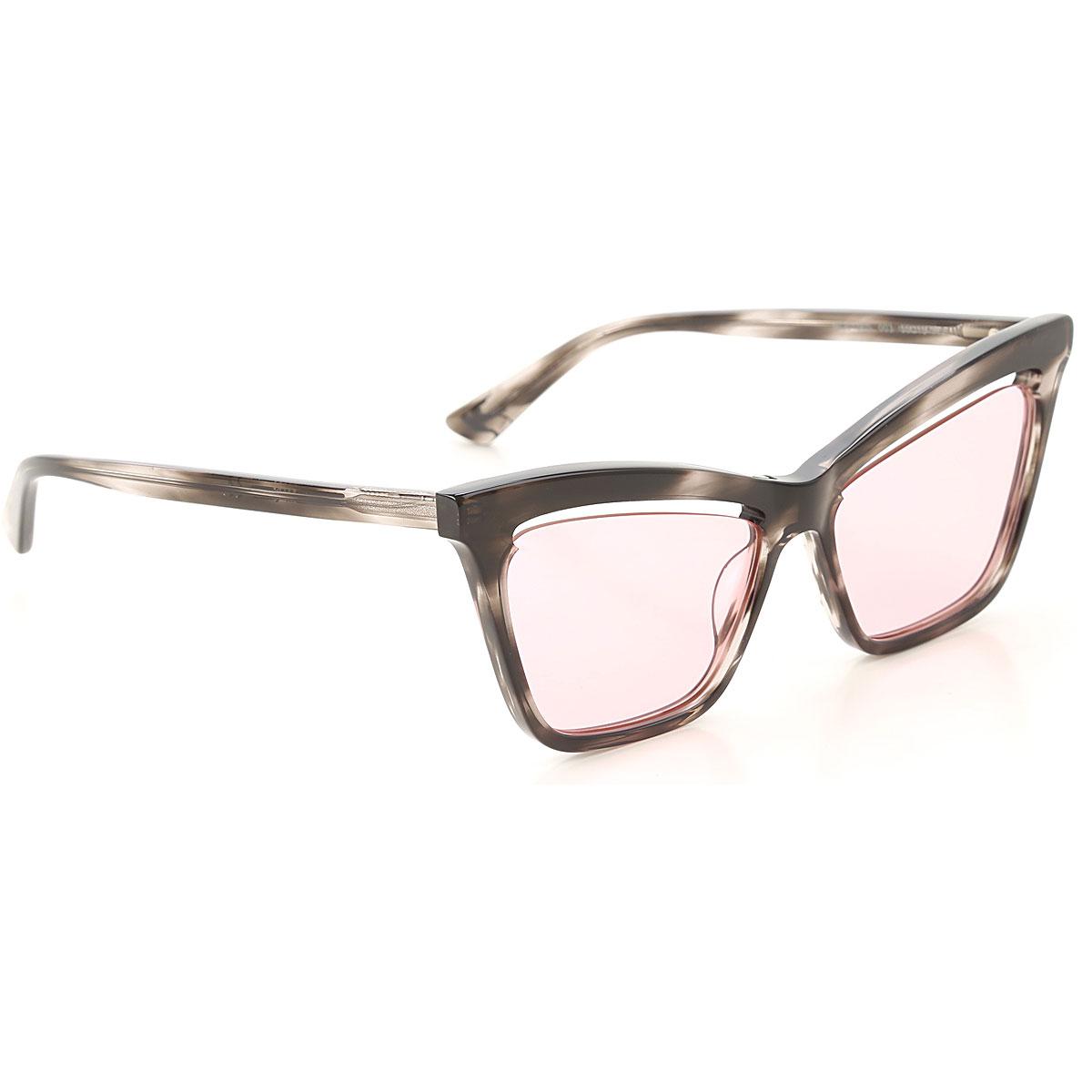 Alexander McQueen McQ Sunglasses On Sale, Grey Havana, 2019