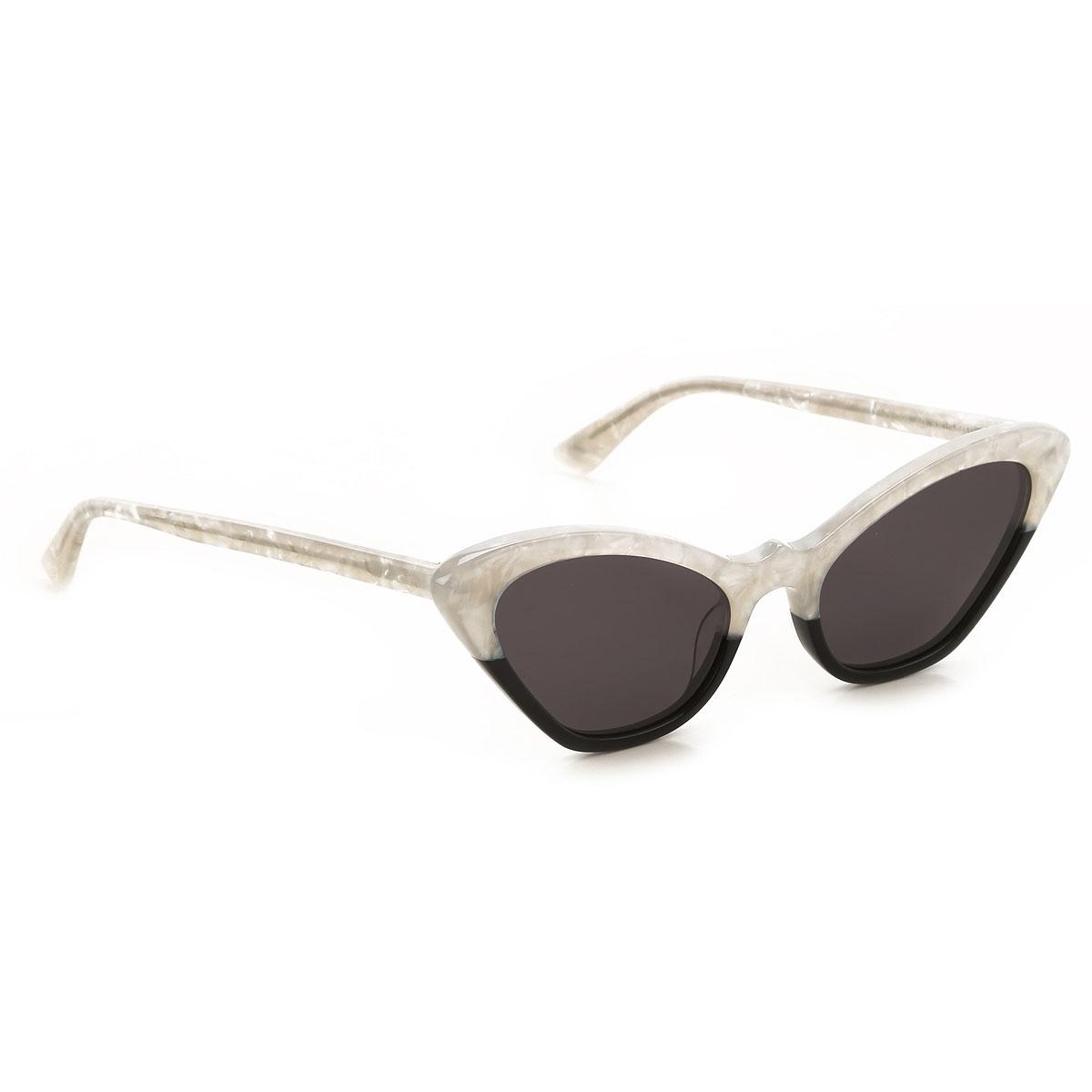Alexander McQueen McQ Sunglasses On Sale, White Motherpearl, 2019