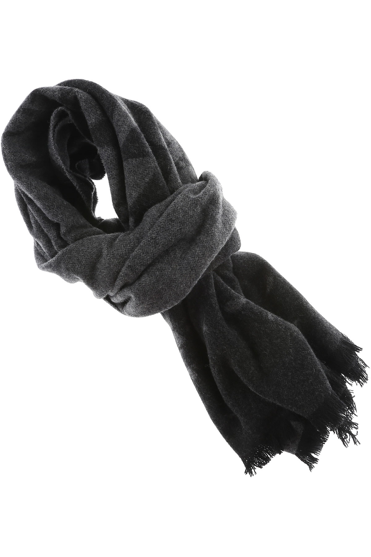 Image of Alexander McQueen McQ Scarf for Women On Sale in Outlet, Black, Wool, 2017