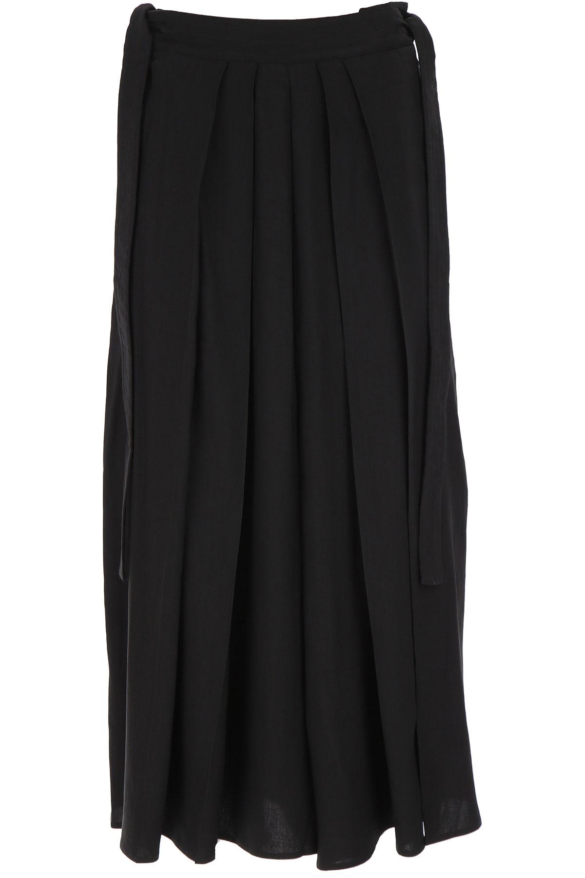 Alexander McQueen McQ Pants for Women On Sale, Black, linen, 2019, 26 28 30