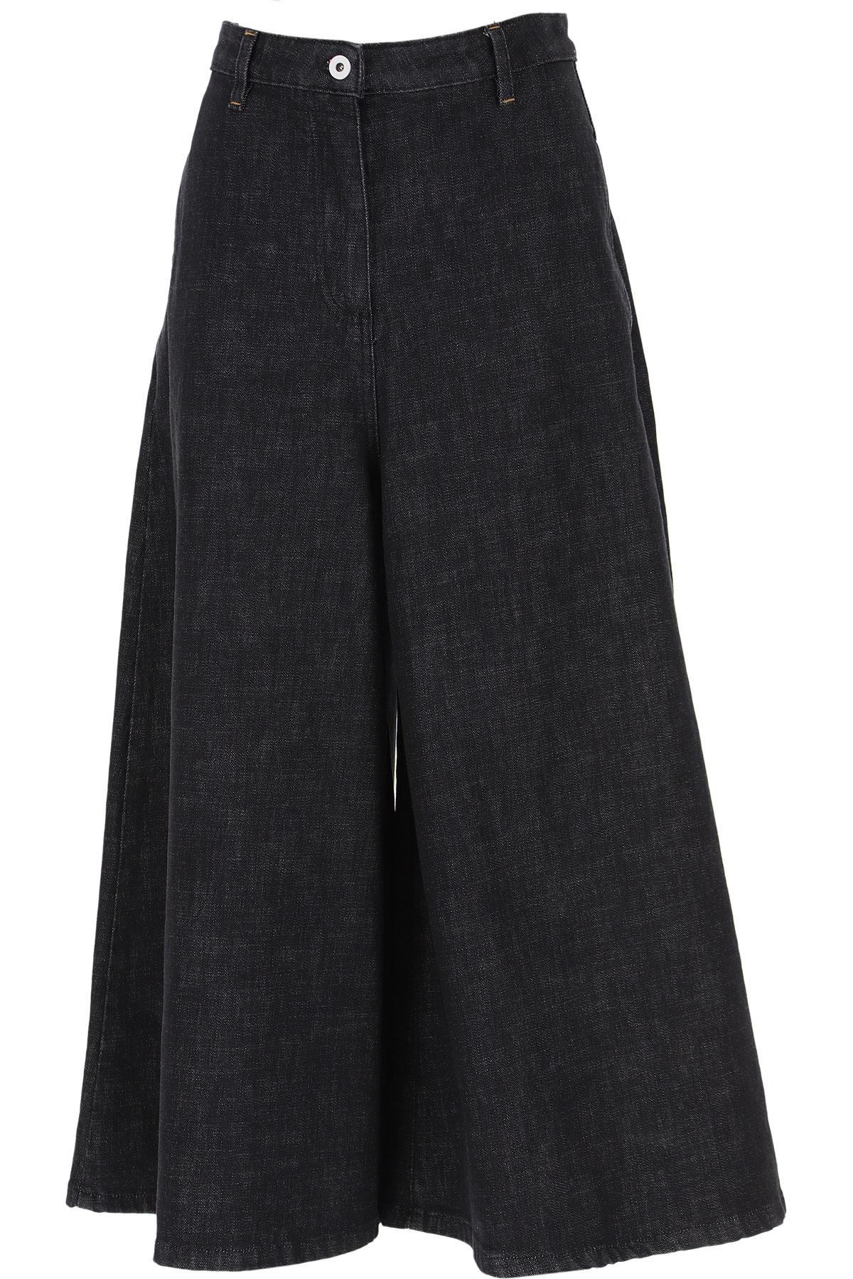 Alexander McQueen McQ Jeans On Sale, Black, Cotton, 2019, 10 2 4 6
