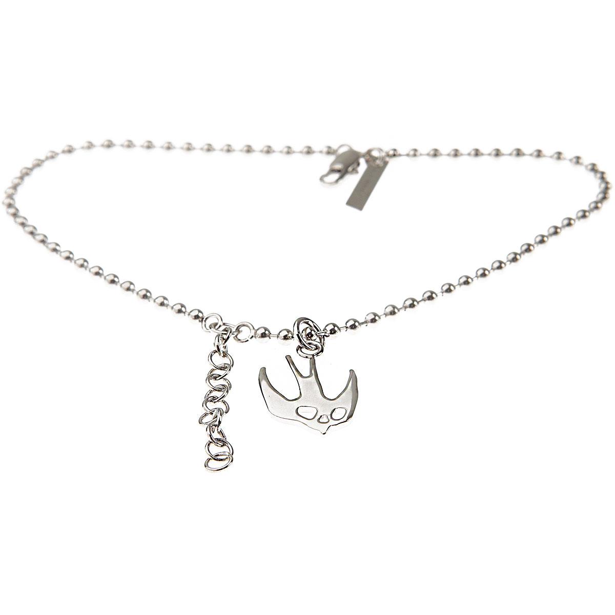Alexander McQueen McQ Bracelet for Women On Sale, Silver, Brass, 2019