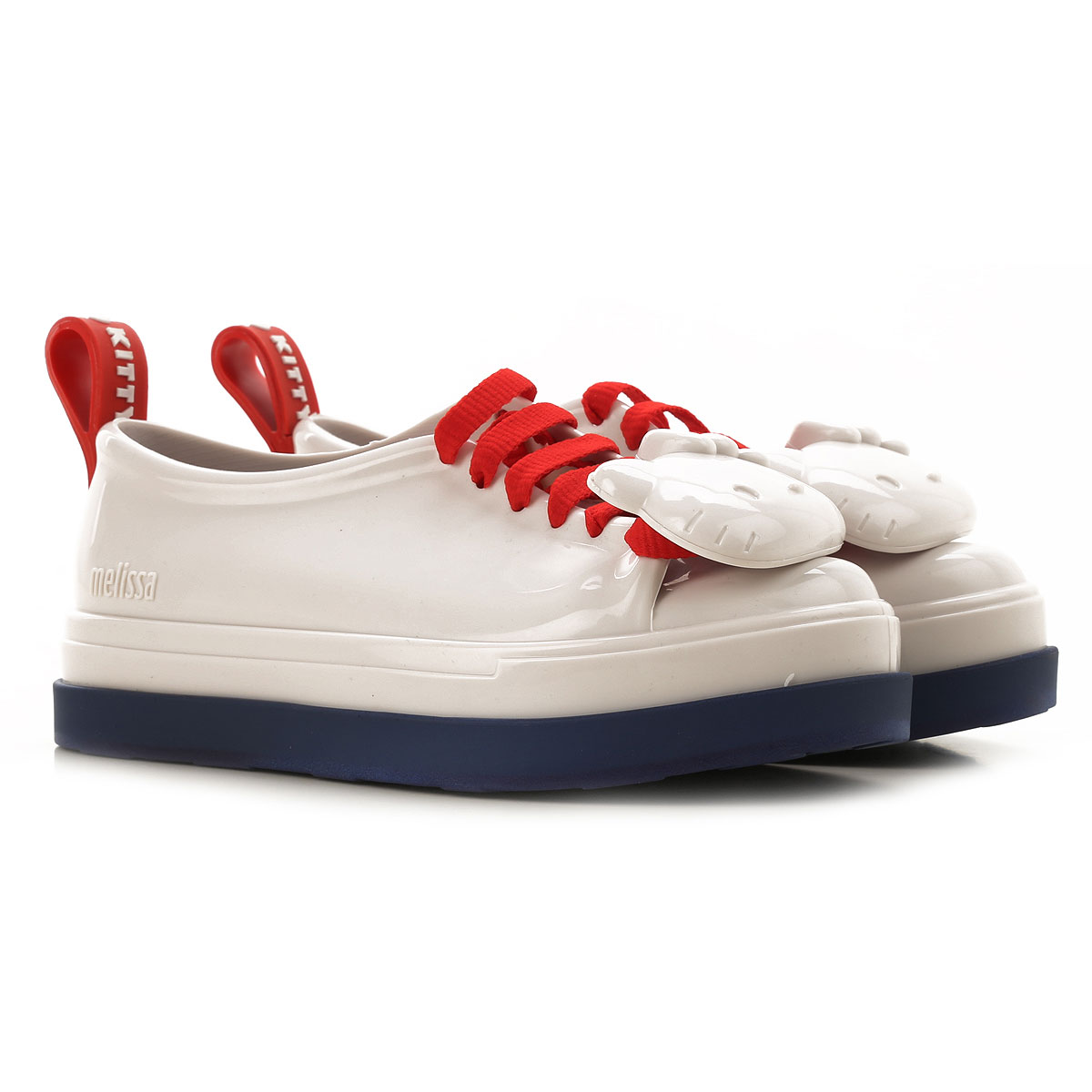 Melissa Kids Shoes for Girls On Sale, White, PVC, 2019, EU 30 - 18.5 CM EU 31 - 19 CM EU 32 - 20 CM EU 33 - 20.5 CM EU 34/35 - 21.5 CM
