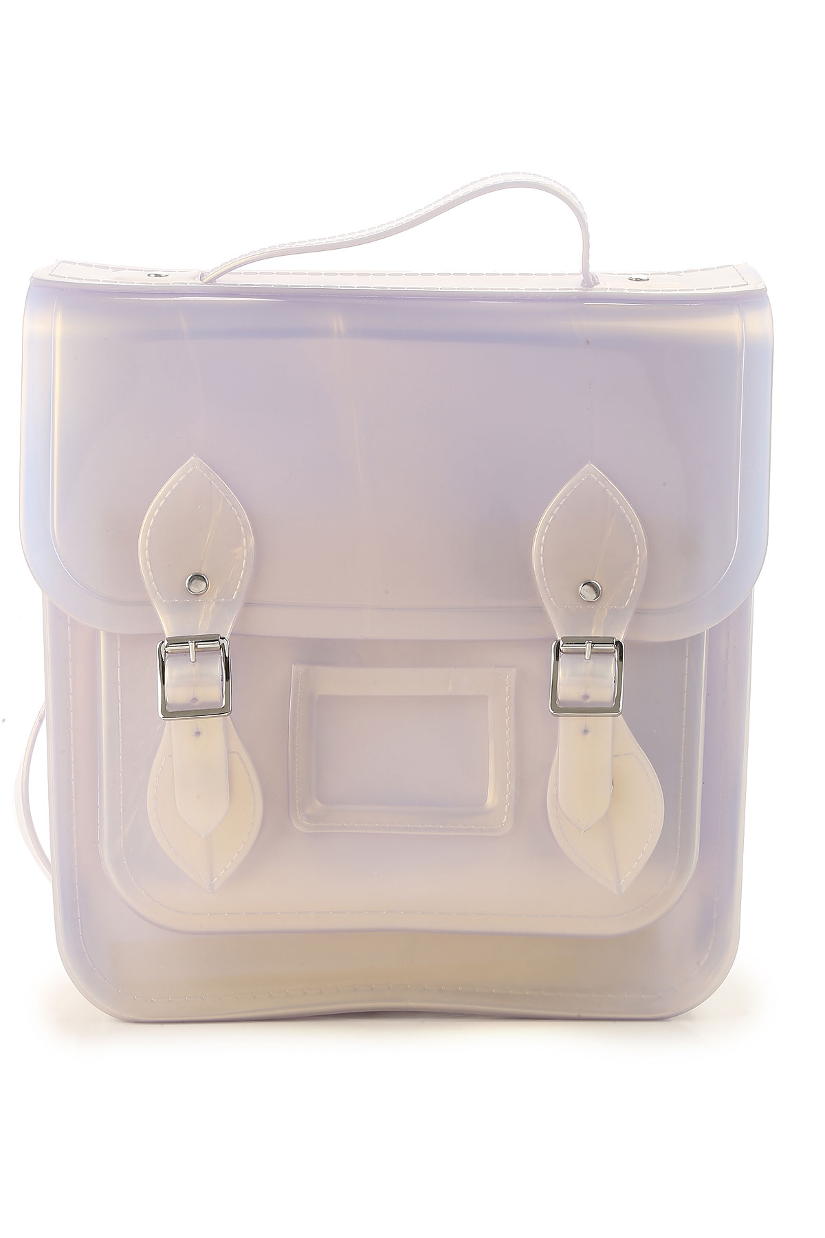 Image of Melissa Backpack for Women, Melissa + The Cambridge Satchel Company, Grey Pearl, PVC, 2017