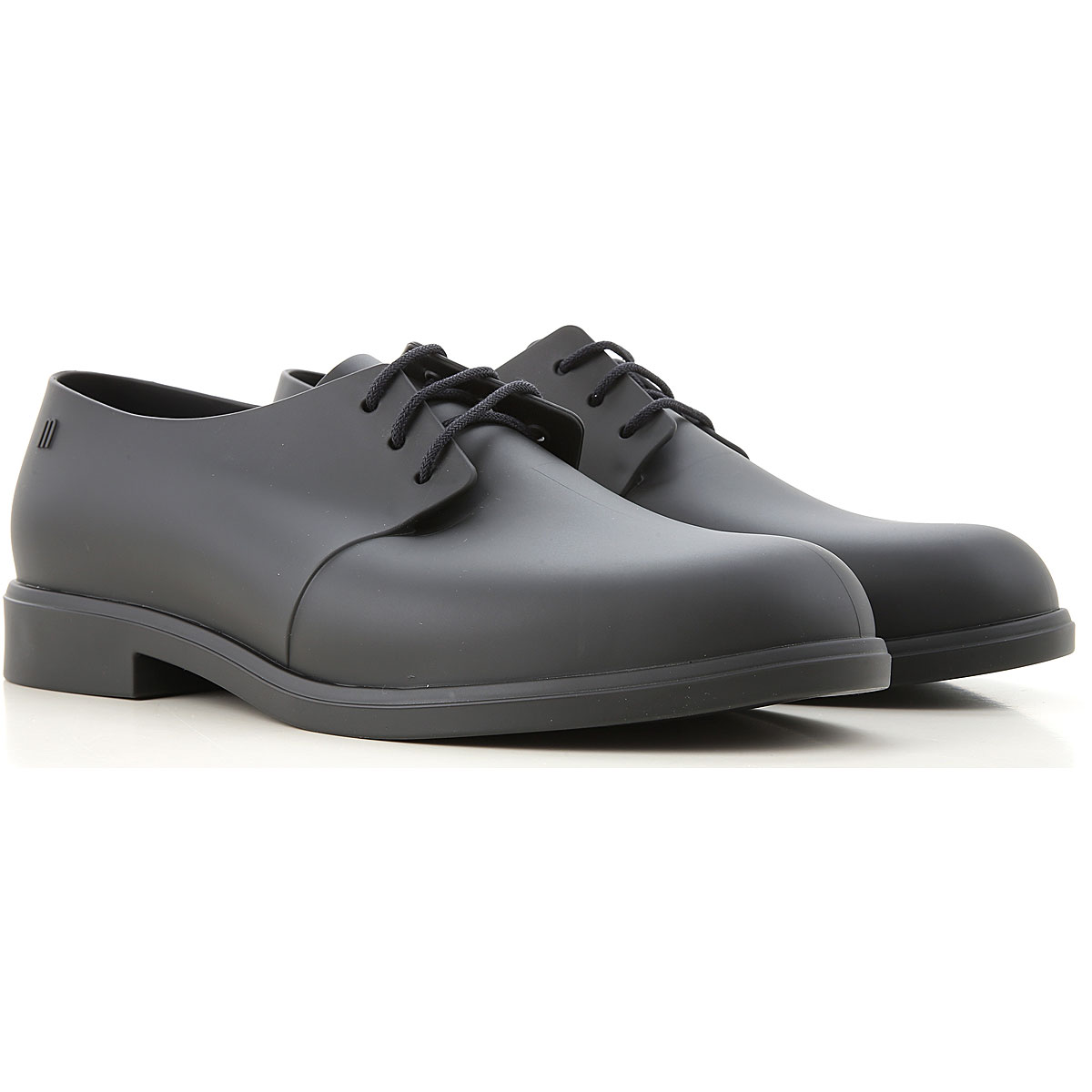 Melissa Lace Up Shoes for Men Oxfords, Derbies and Brogues On Sale, Black, PVC, 2019, 10 11.5 9