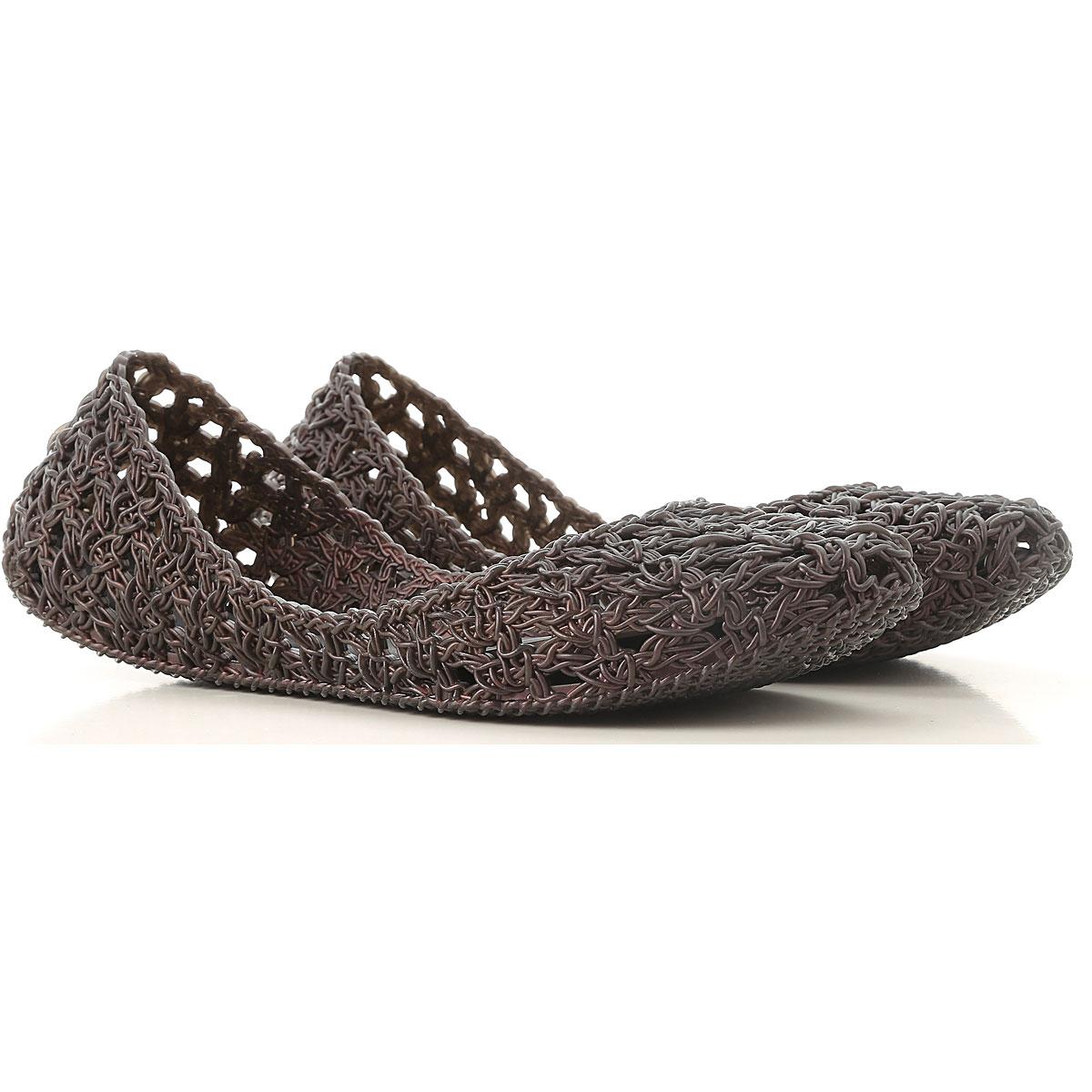 Melissa Ballet Flats Ballerina Shoes for Women On Sale, Melissa / Campana, Black, PVC, 2019, 9