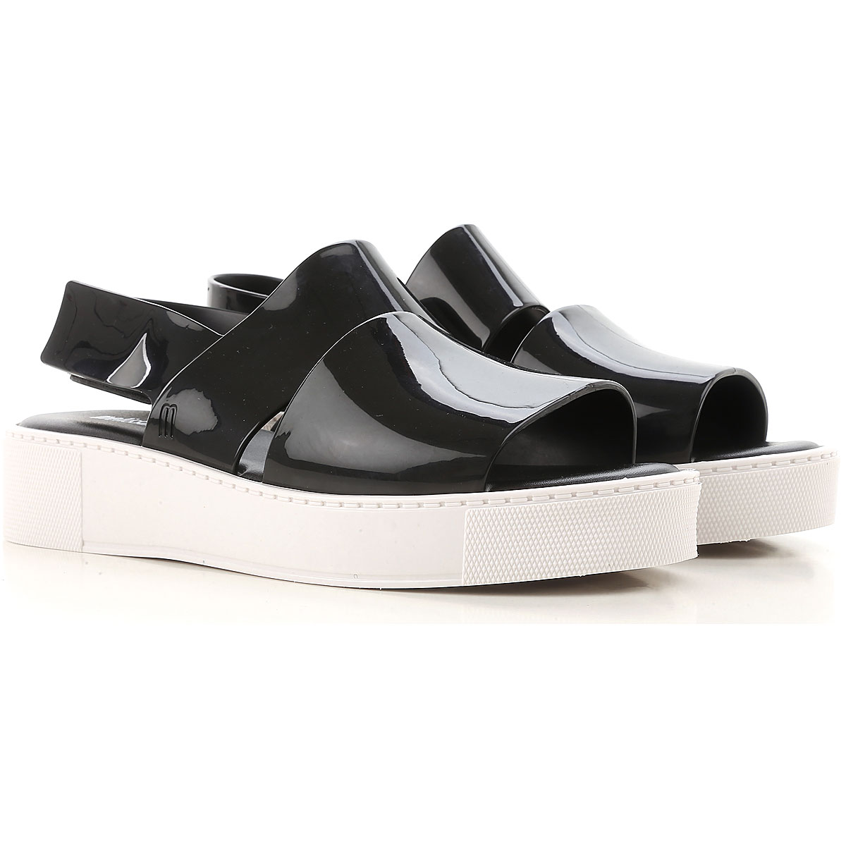 Melissa Sandals for Women On Sale in Outlet, Black, plastic, 2019, USA 6 - EUR 37 USA 9 - EUR 40