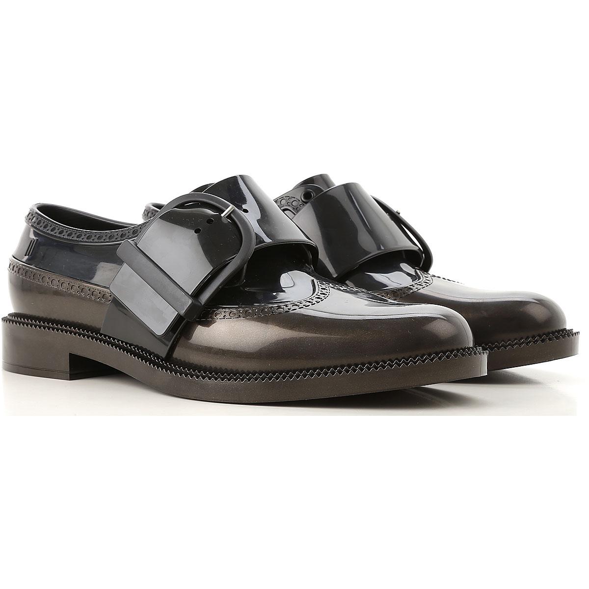 Image of Melissa Monk Strap Shoes, Black, PVC, 2017, USA 6 - EUR 37 USA 7 - EUR 38 USA 8 - EUR 39 USA 9 - EUR 40