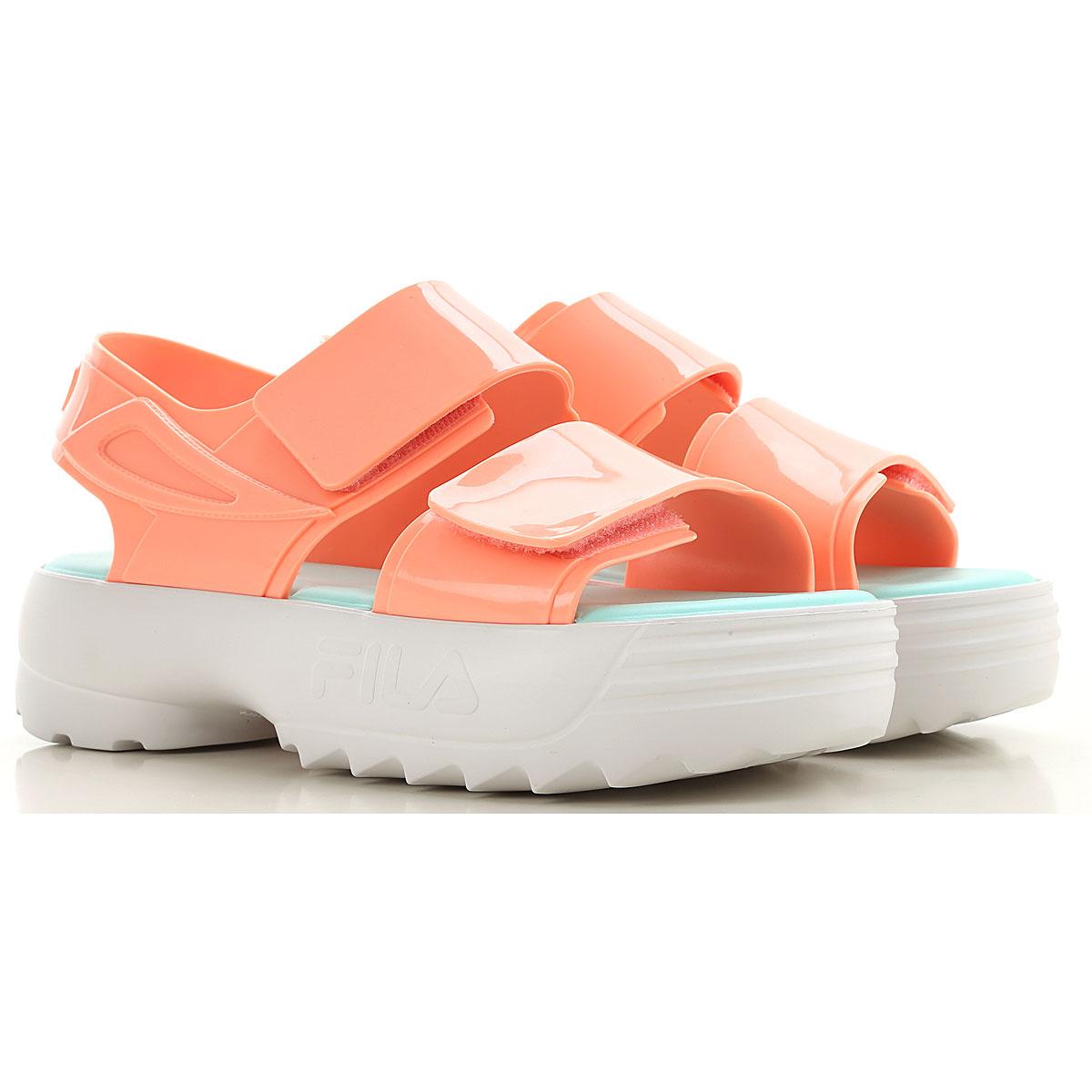 Melissa Sandals for Women On Sale, Light Salmon Pink, PVC, 2019, USA 7 - EUR 38 USA 8 - EUR 39 USA 9 - EUR 40 USA 10 - EUR 41/42