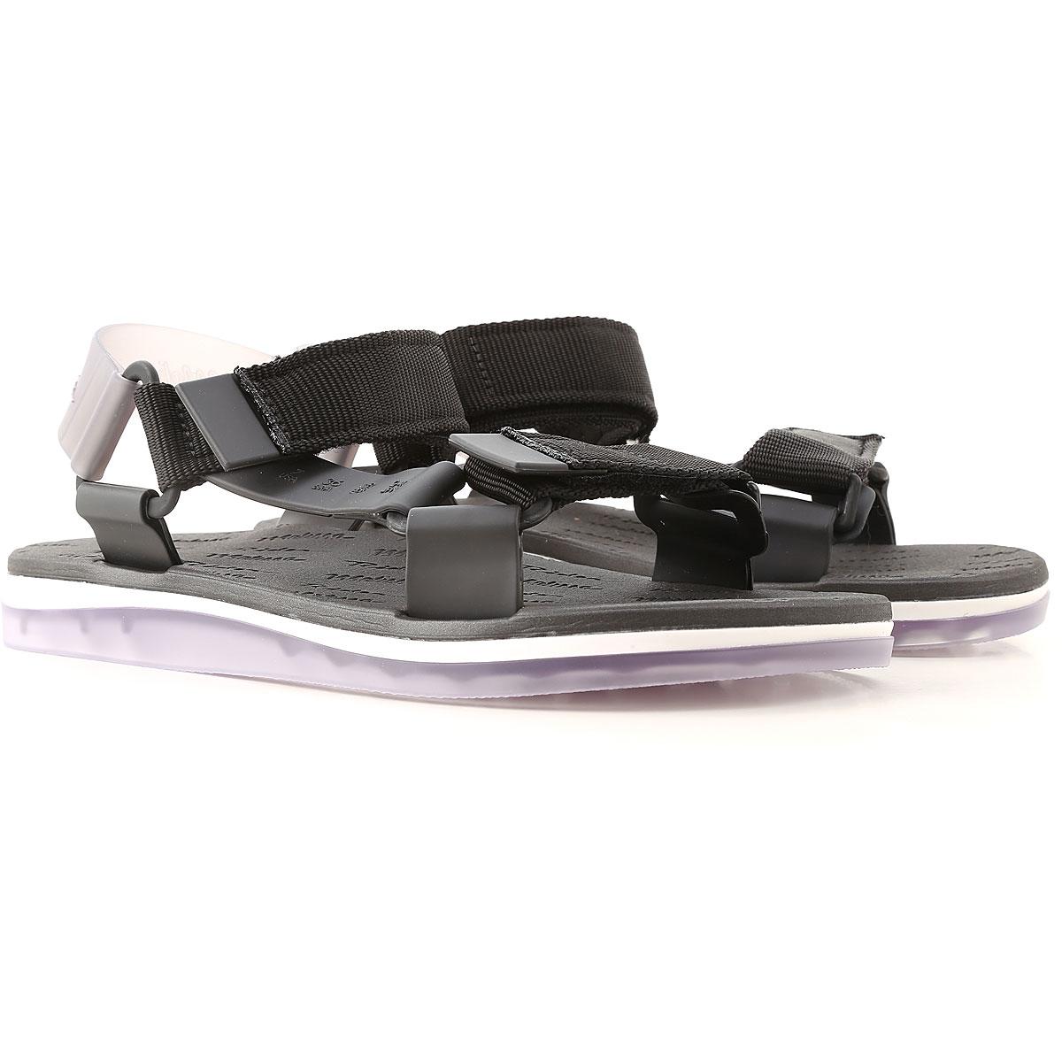 Melissa Sandals for Women On Sale, Black, PVC, 2019, 9