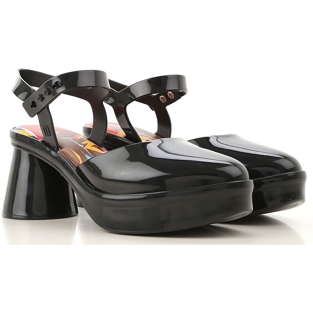 Melissa Pumps & High Heels for Women On Sale, Black, Rubber, 2019, USA 6 - EUR 37 USA 9 - EUR 40 USA 10 - EUR 41/42