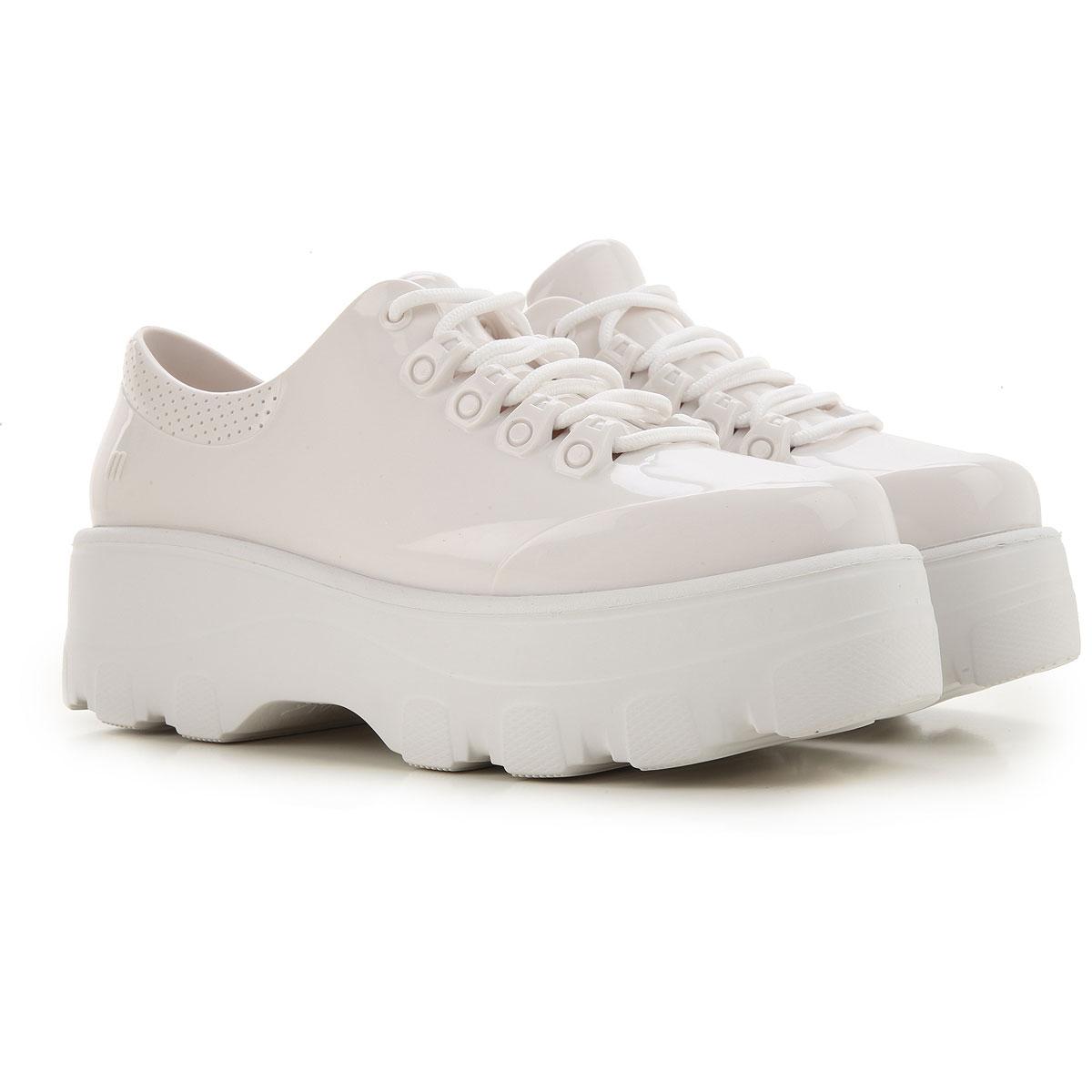 Melissa Lace Up Shoes for Men Oxfords, Derbies and Brogues On Sale, White, PVC, 2019, USA 6 - EUR 37 USA 8 - EUR 39 USA 9 - EUR 40 USA 10 - EUR 41/42