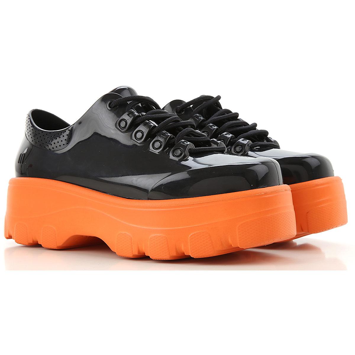 Melissa Lace Up Shoes for Men Oxfords, Derbies and Brogues On Sale, Black, PVC, 2019, USA 6 - EUR 37 USA 8 - EUR 39 USA 9 - EUR 40