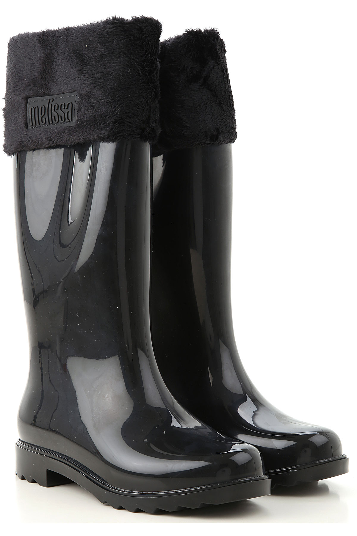 Melissa Boots for Women, Booties On Sale, Black, PVC, 2019, USA 5 - EUR 35/36 USA 6 - EUR 37 USA 7 - EUR 38 USA 8 - EUR 39 USA 10 - EUR 41/42