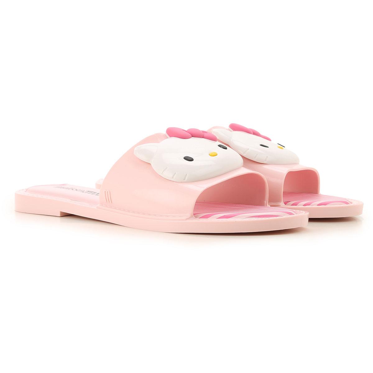 Melissa Sandals for Women On Sale, Melissa + Hello Kitty, Pink, PVC, 2019, USA 5 - EUR 35/36 USA 6 - EUR 37 USA 7 - EUR 38 USA 8 - EUR 39 USA 9 - EUR