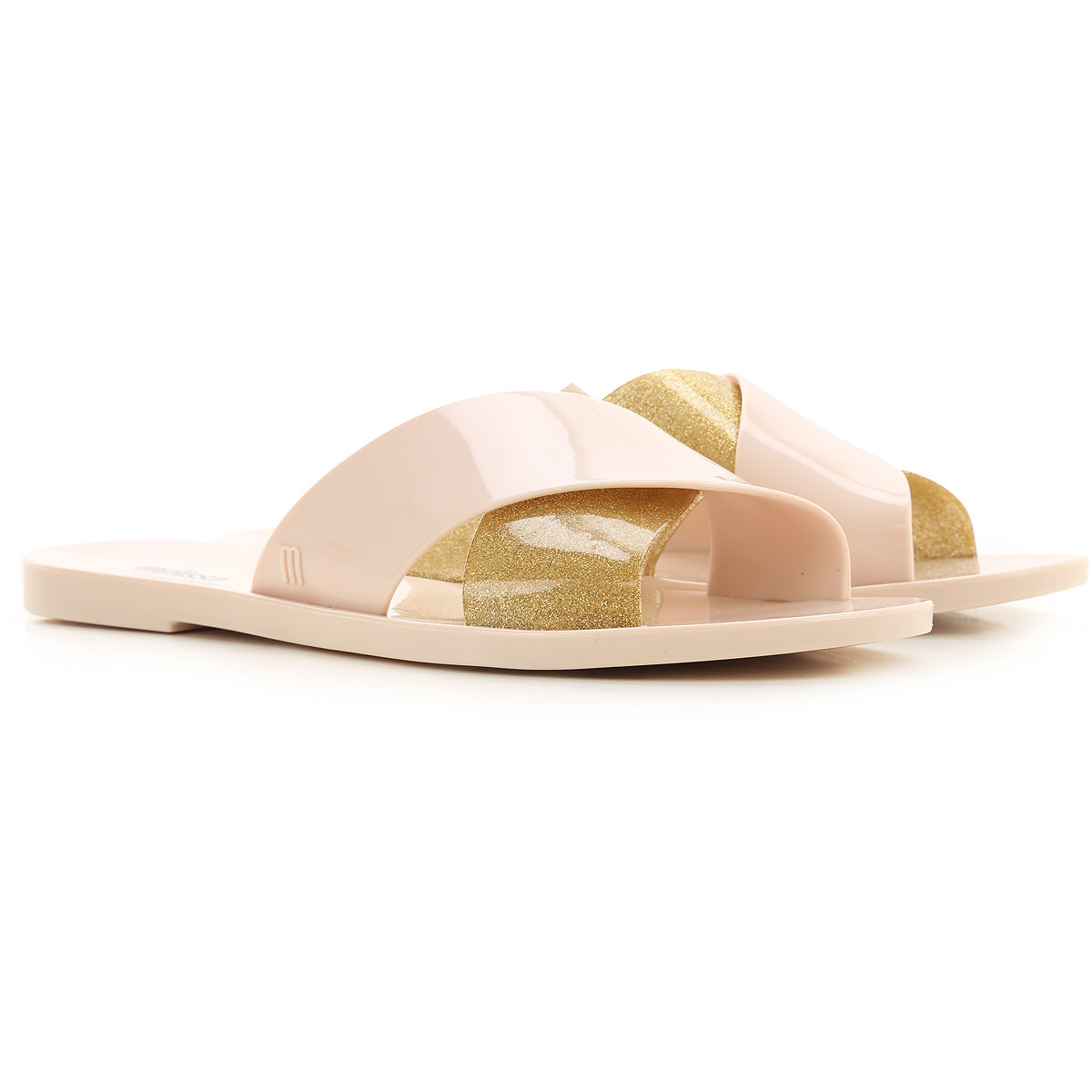 Melissa Sandals for Women On Sale, Beige, PVC, 2019, USA 5 - EUR 35/36 USA 6 - EUR 37 USA 7 - EUR 38 USA 8 - EUR 39 USA 9 - EUR 40 USA 10 - EUR 41/42