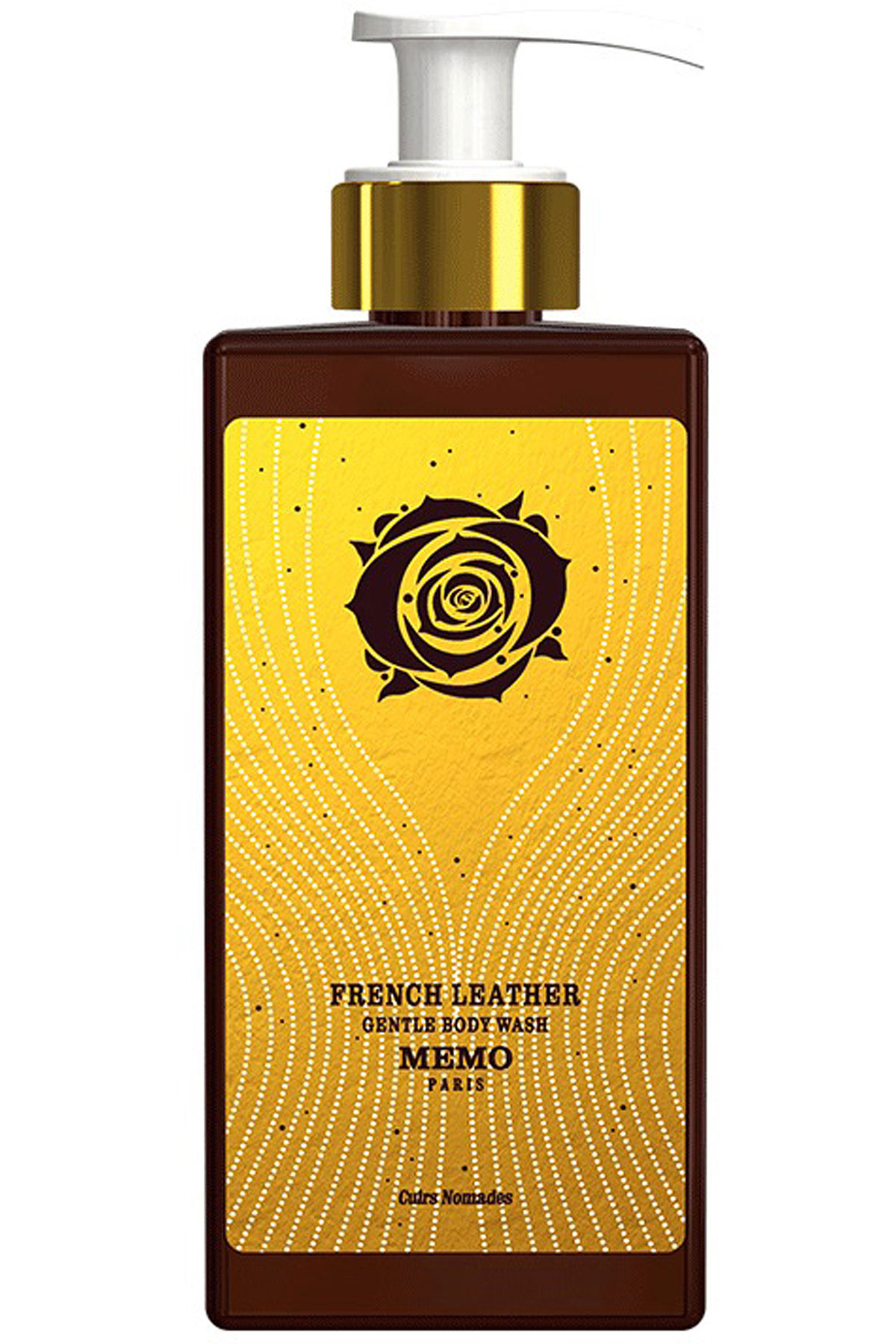 Memo Paris Beauty for Women, French Leather - Gentle Body Wash - 250 Ml, 2019, 250 ml