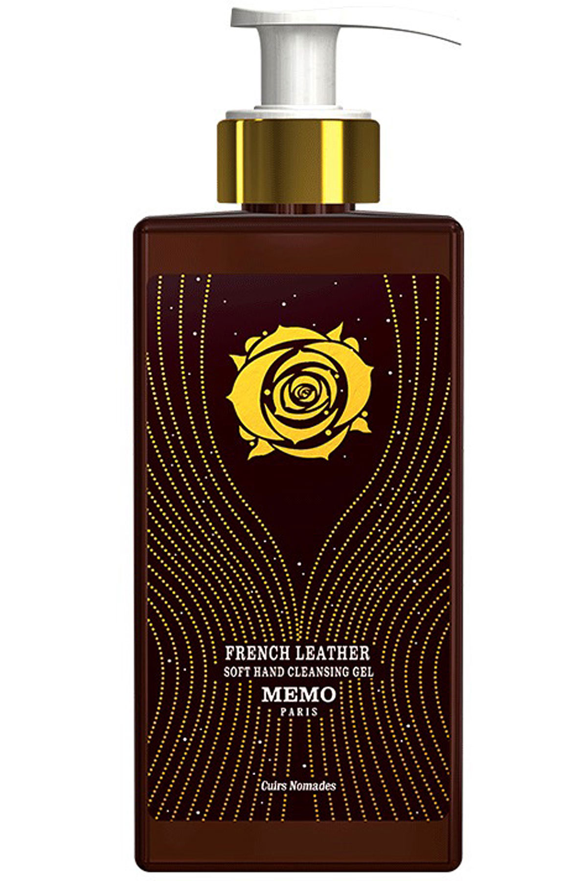 Memo Paris Beauty for Women, French Leather - Soft Hand Cleansing Gel - 250 Ml, 2019, 250 ml
