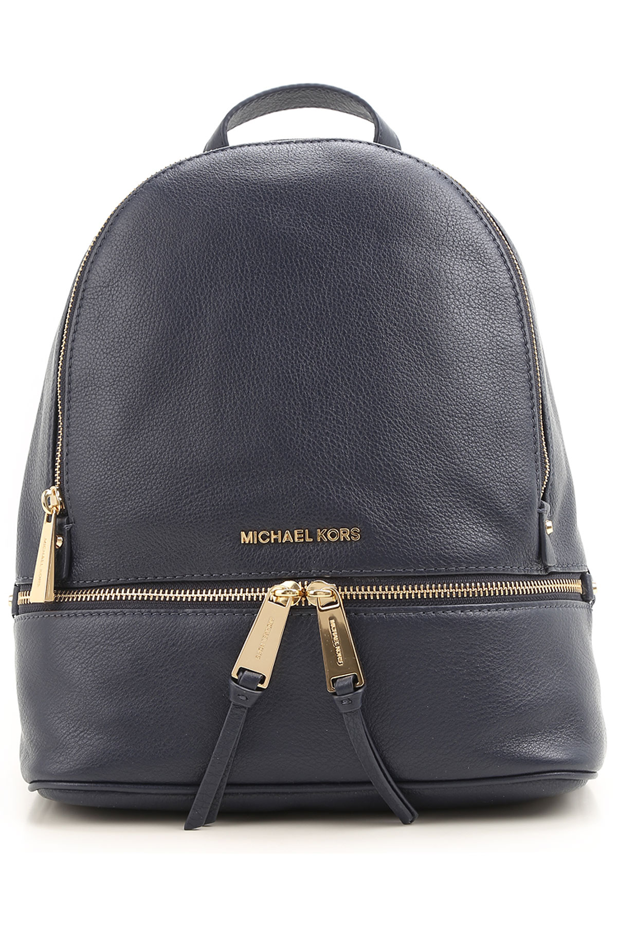 Image of Michael Kors Backpack for Women, navy, Leather, 2017