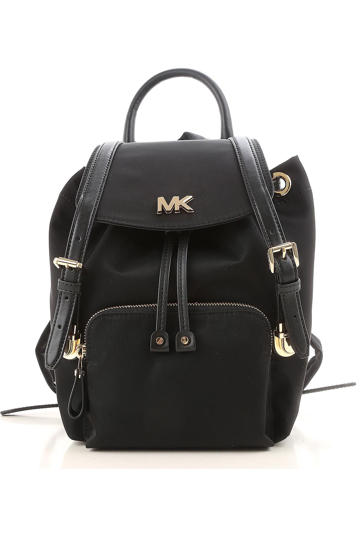 Michael Kors Backpack for Women, Black, Nylon, 2019