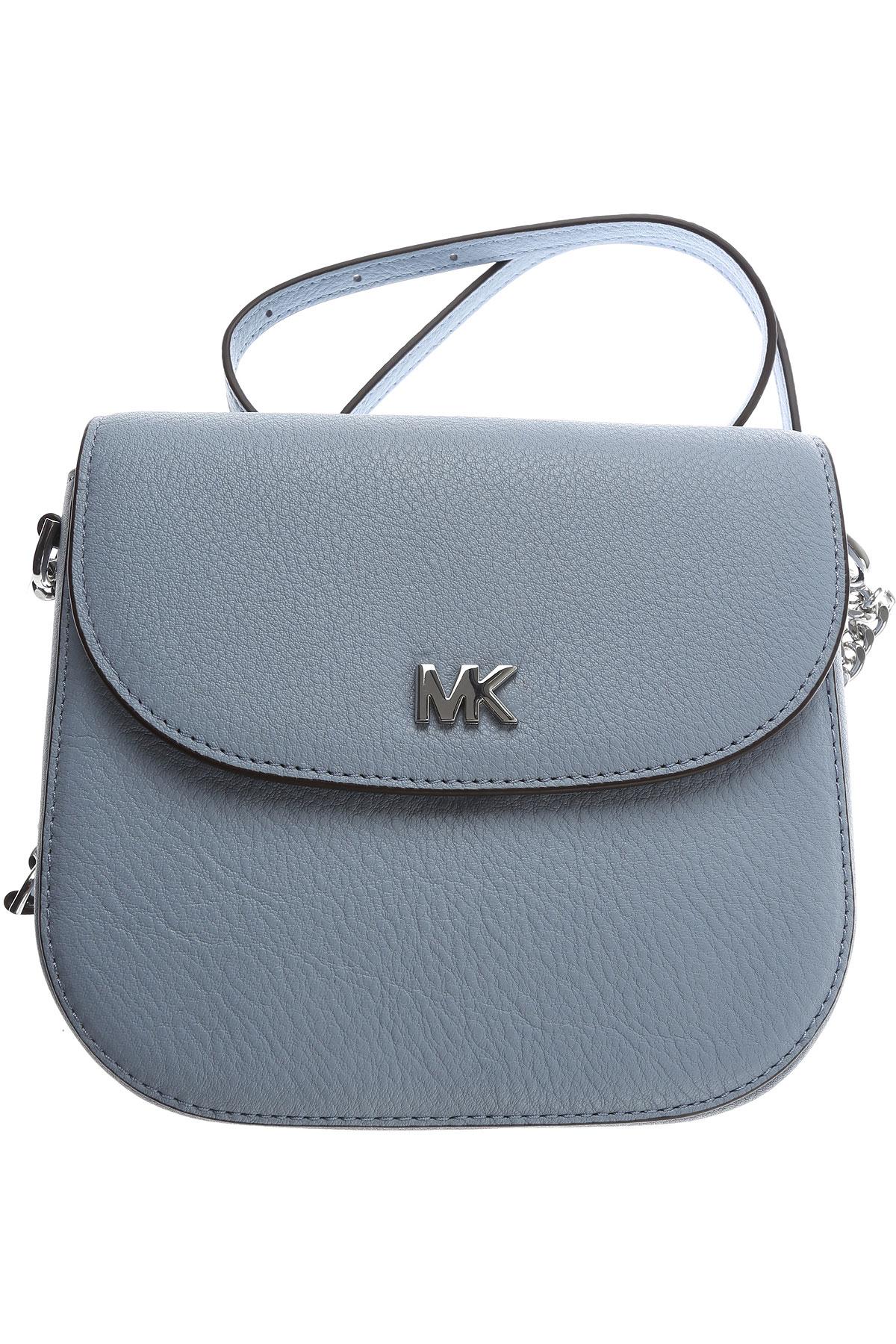 Michael Kors Shoulder Bag for Women, Sugar paper, Leather, 2019