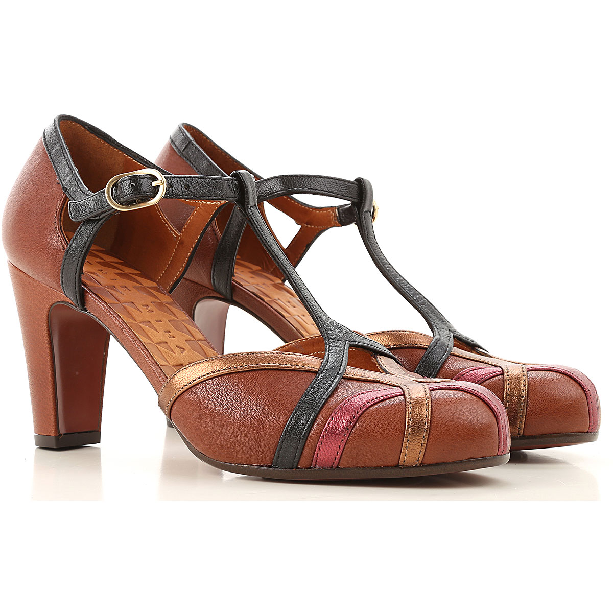 Chie Mihara Womens Shoes On Sale, Brown, Leather, 2019, 7 8 9