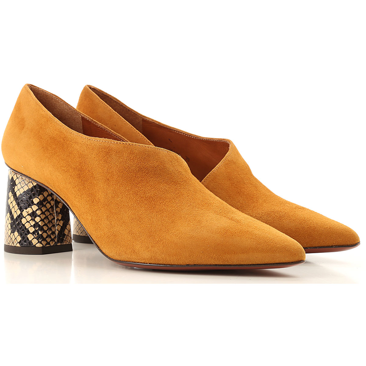 Chie Mihara Womens Shoes On Sale, Tobacco, suede, 2019, 6 7 8 9