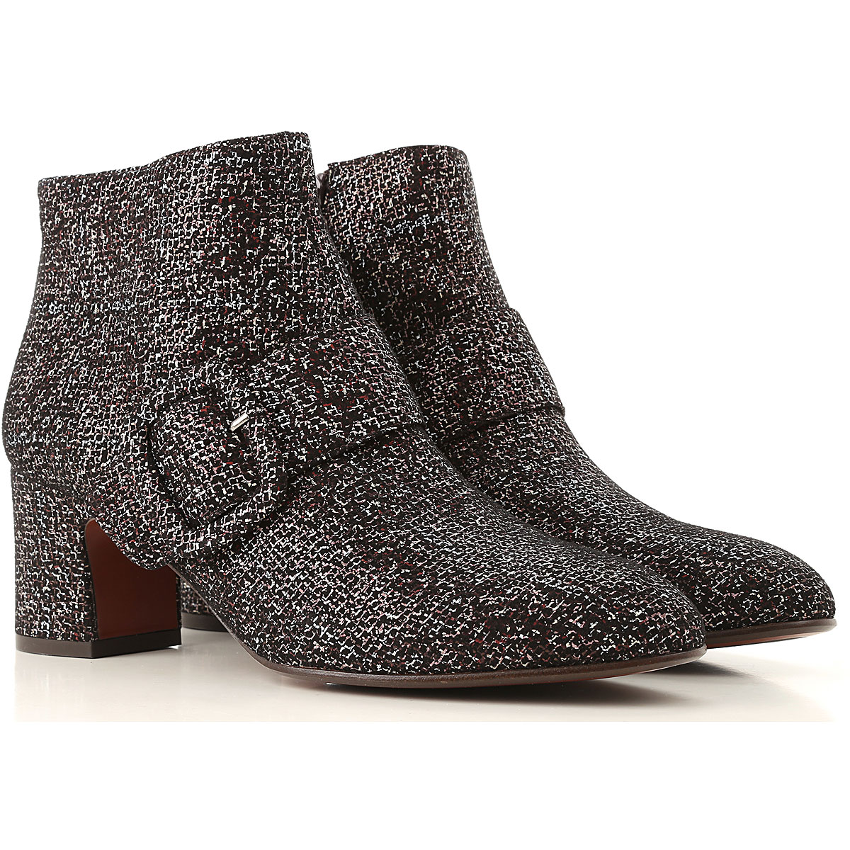 Chie Mihara Boots for Women, Booties On Sale in Outlet, Black, Leather, 2019, 8 9