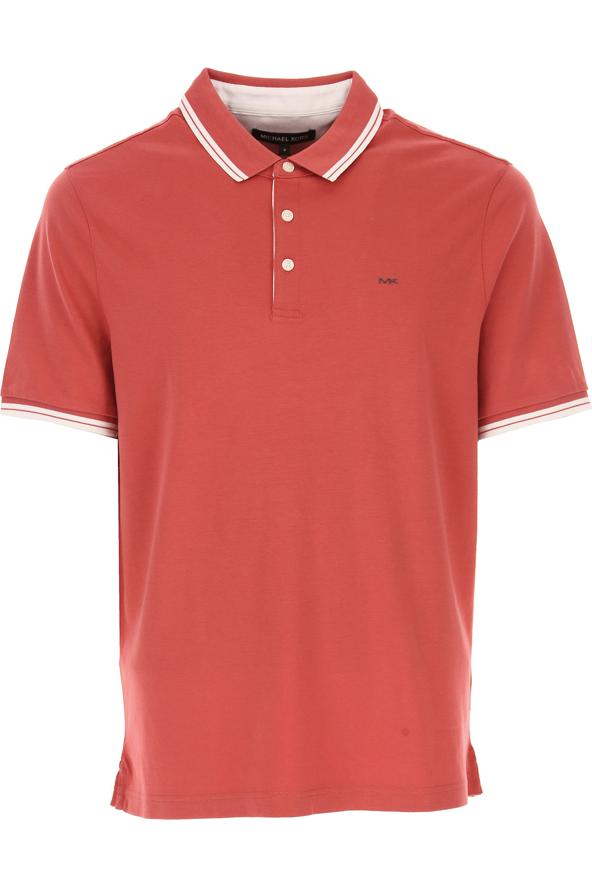 Michael Kors Polo Shirt for Men On Sale in Outlet, Nantucket Red, Cotton, 2019, M S