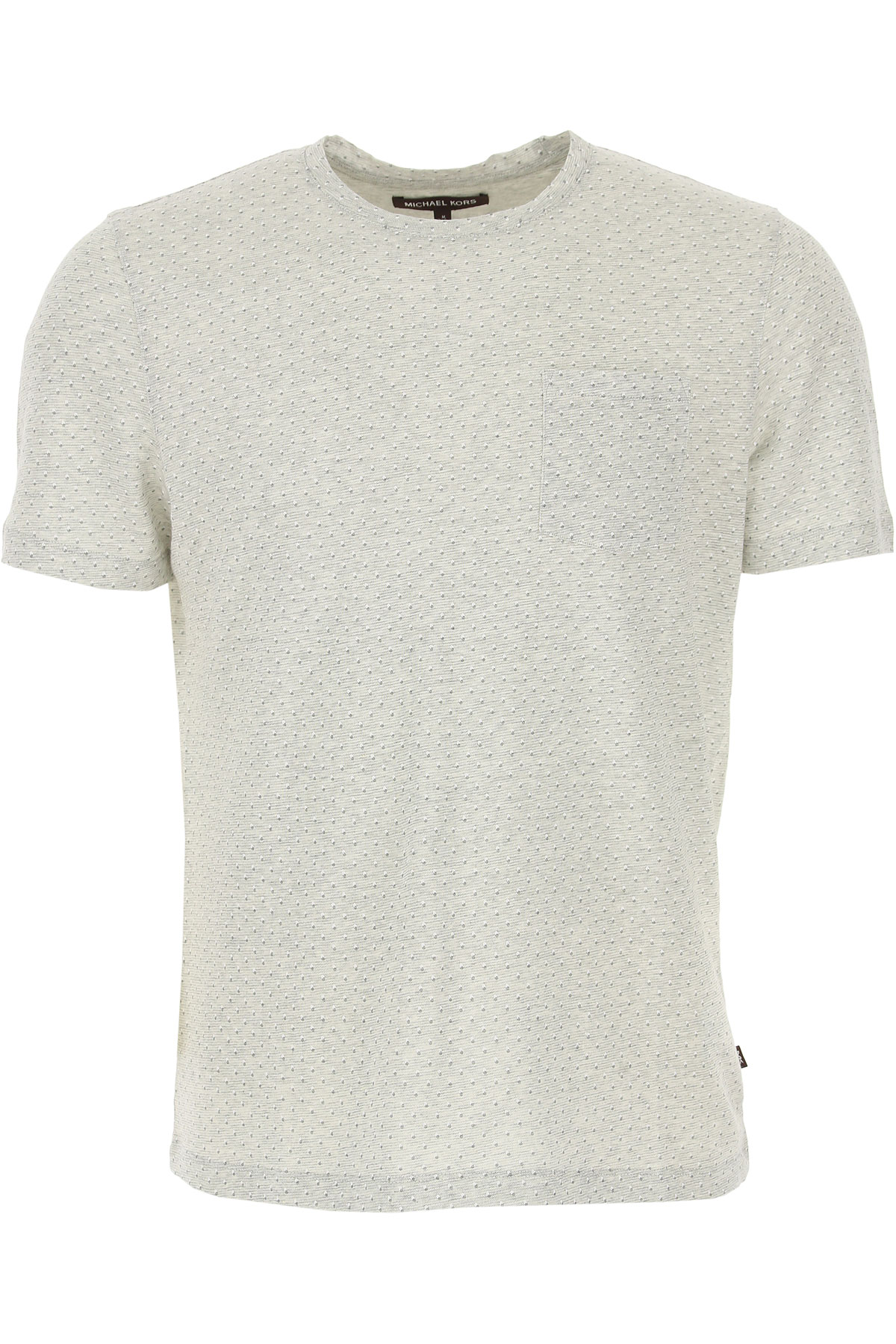 Michael Kors T-Shirt for Men On Sale in Outlet, Heather Grey, Cotton, 2019, L XL