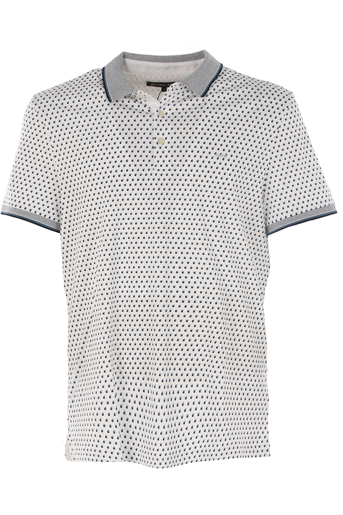 Michael Kors Polo Shirt for Men On Sale in Outlet, White, Cotton, 2019, L M S