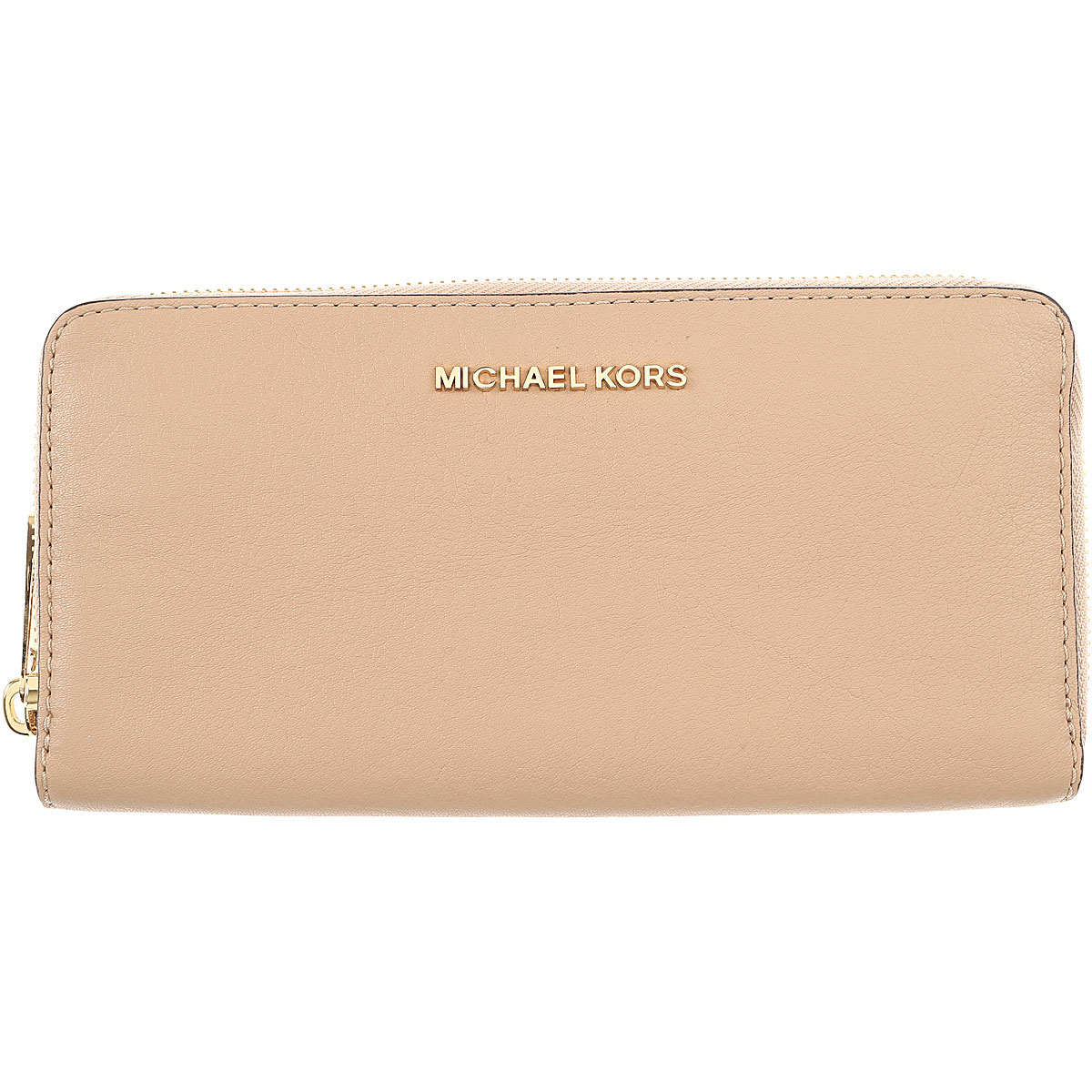 Michael Kors Womens Wallets On Sale, Oyster, Leather, 2019