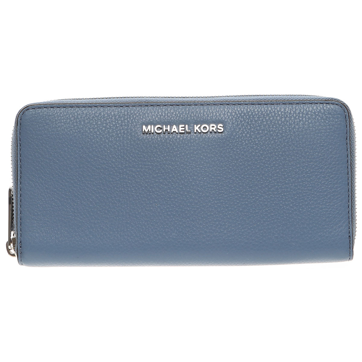 Michael Kors Wallet for Women On Sale, Denim Blue, Leather, 2019