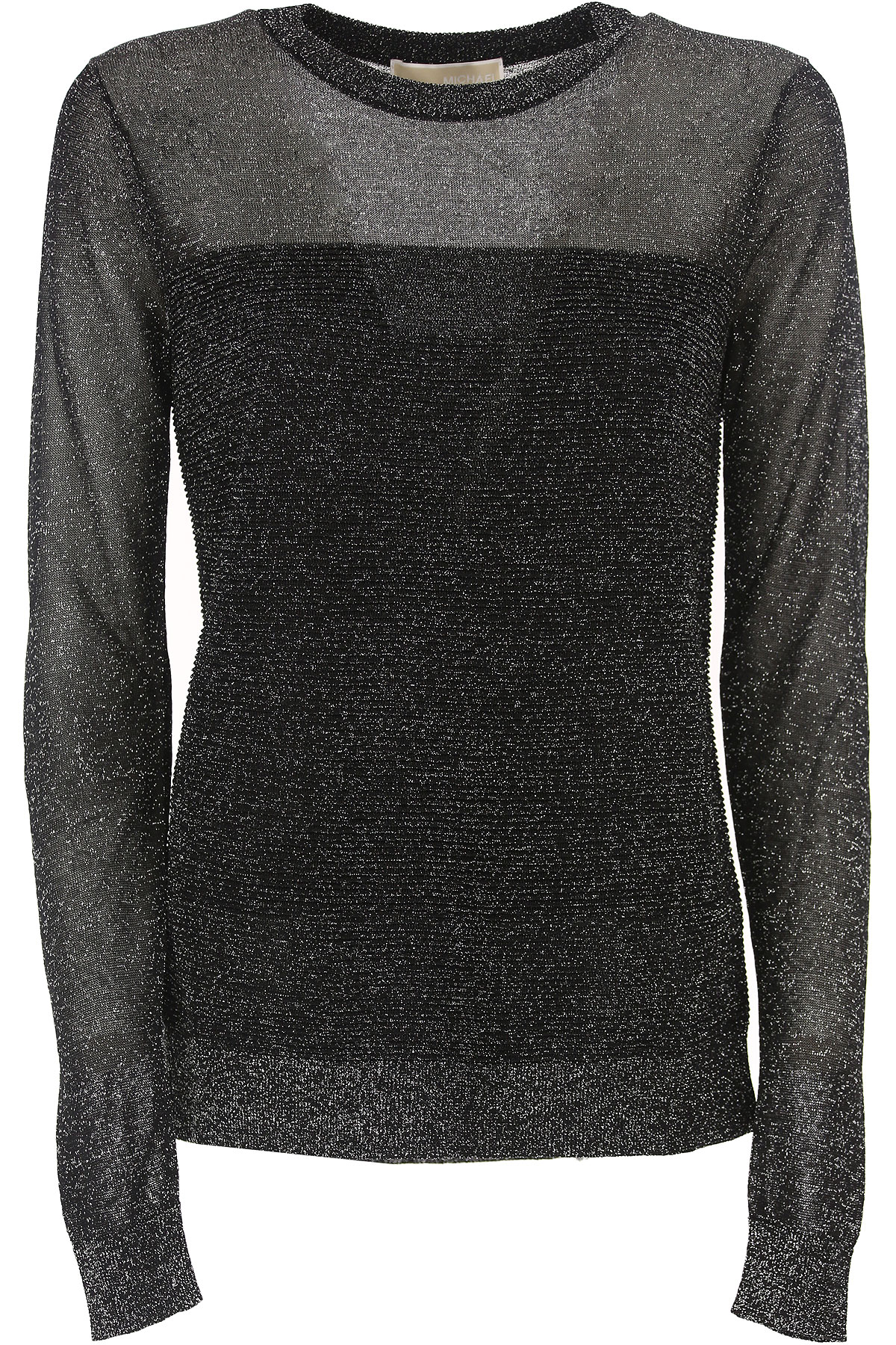 Michael Kors Sweater for Women Jumper On Sale, Black, Rayon, 2019, 10 14