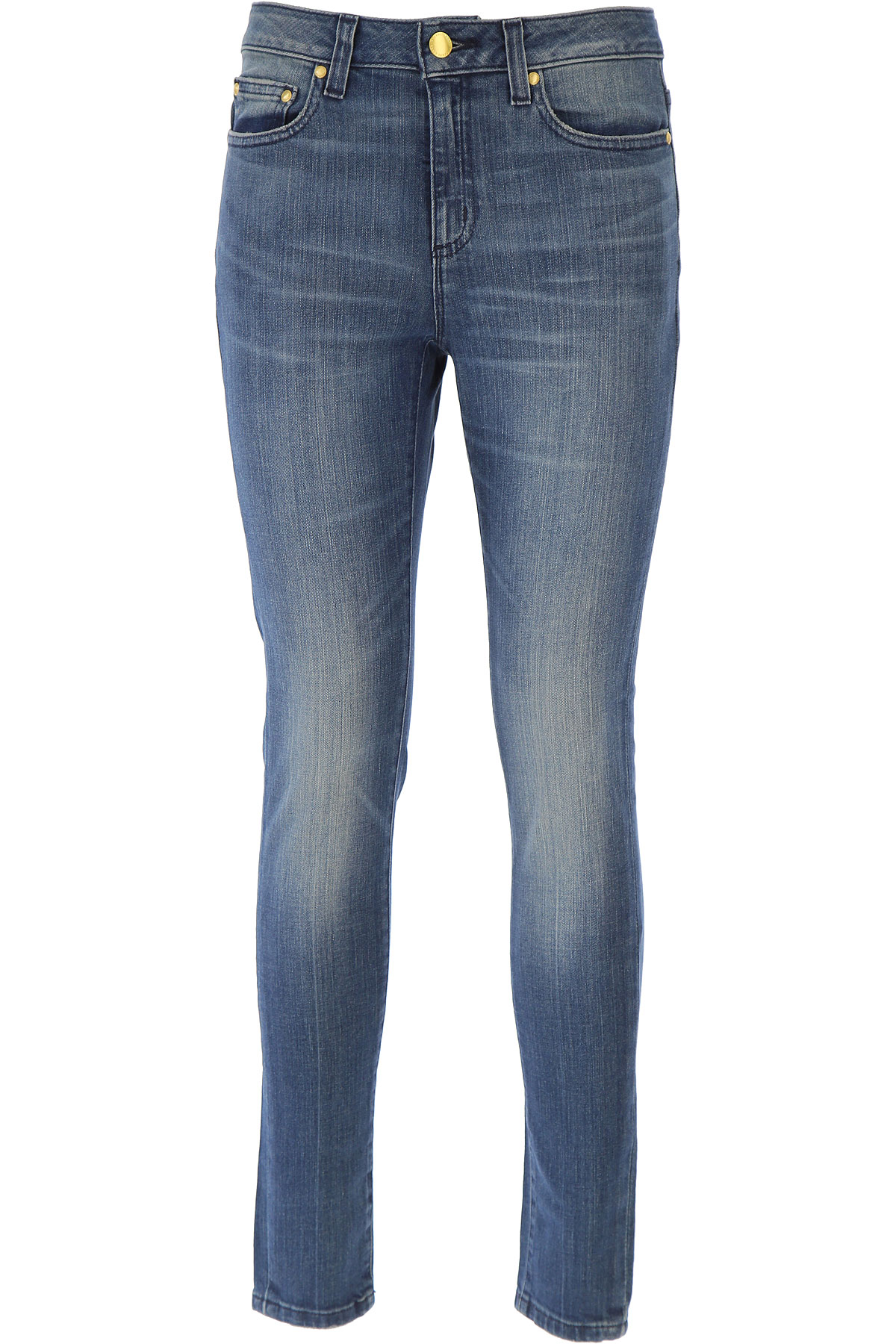 Michael Kors Jeans On Sale, Blue Denim, Cotton, 2017, 24 26 28 30 USA-441666