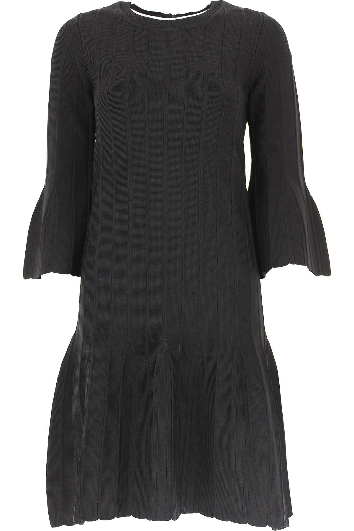 Michael Kors Dress for Women, Evening Cocktail Party, Black, Viscose, 2019, 10 12 8