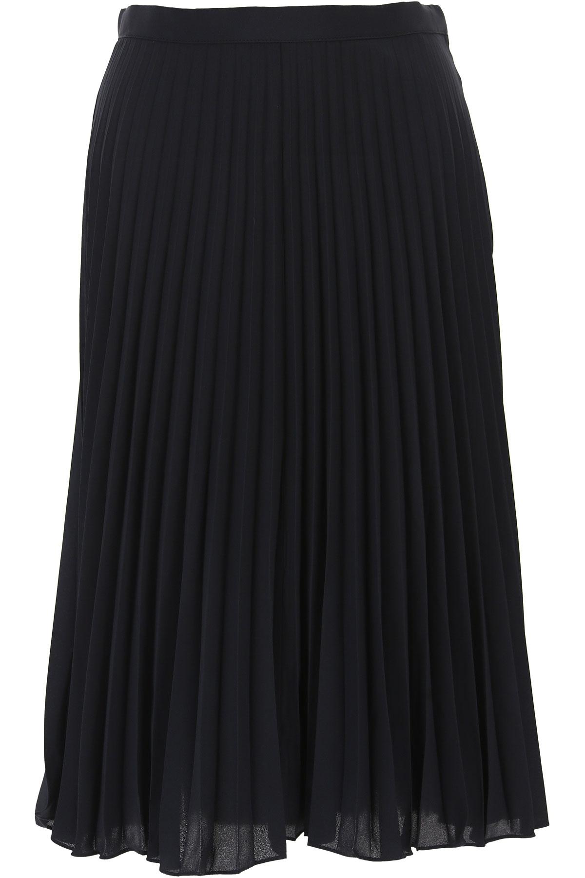 Michael Kors Skirt for Women On Sale in Outlet, navy, polyester, 2019, IT 42 - US 4 - F 38 IT 44 - US 6 - F 40 IT 46 - US 8 - F 42 IT 48 - US 10 - F 4