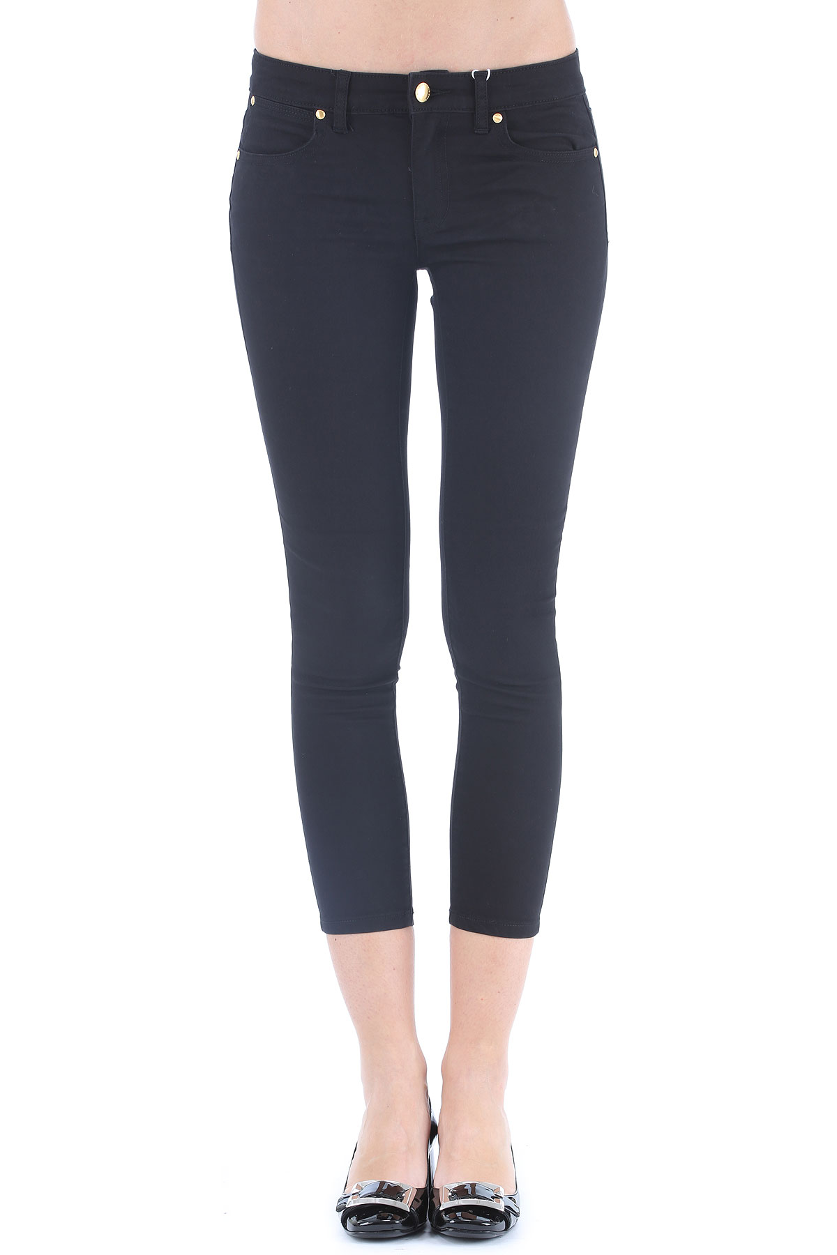 Michael Kors Jeans On Sale, Black, Cotton, 2017, 28 32 USA-347142