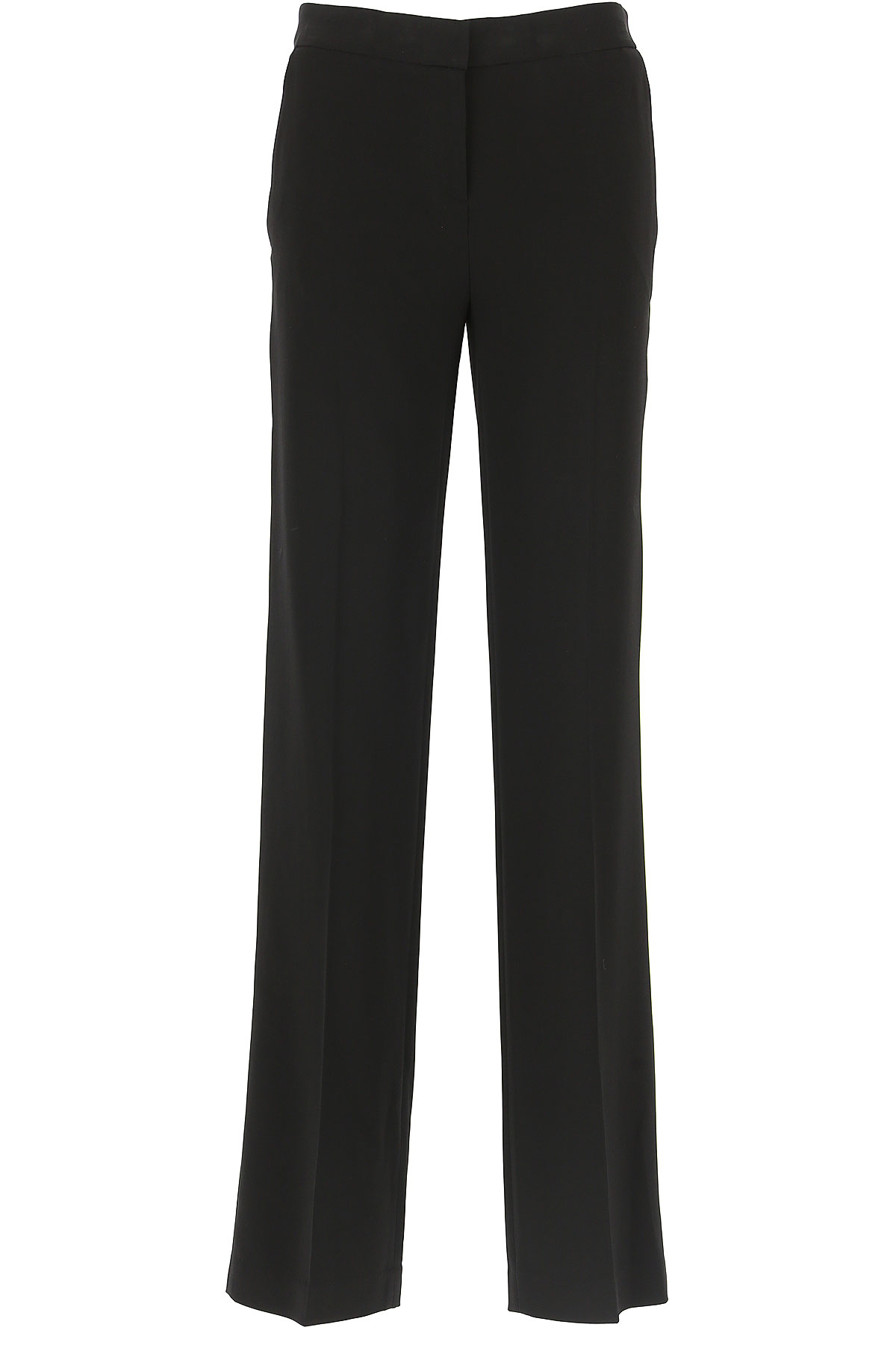 Michael Kors Pantaloni Donna, Nero, Viscose, 2019, 38 40 42 44